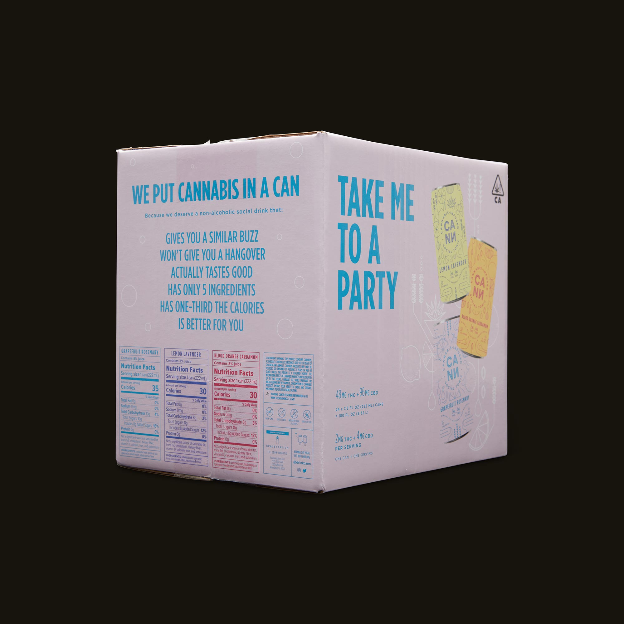 Cann The Party Pack Ingredients