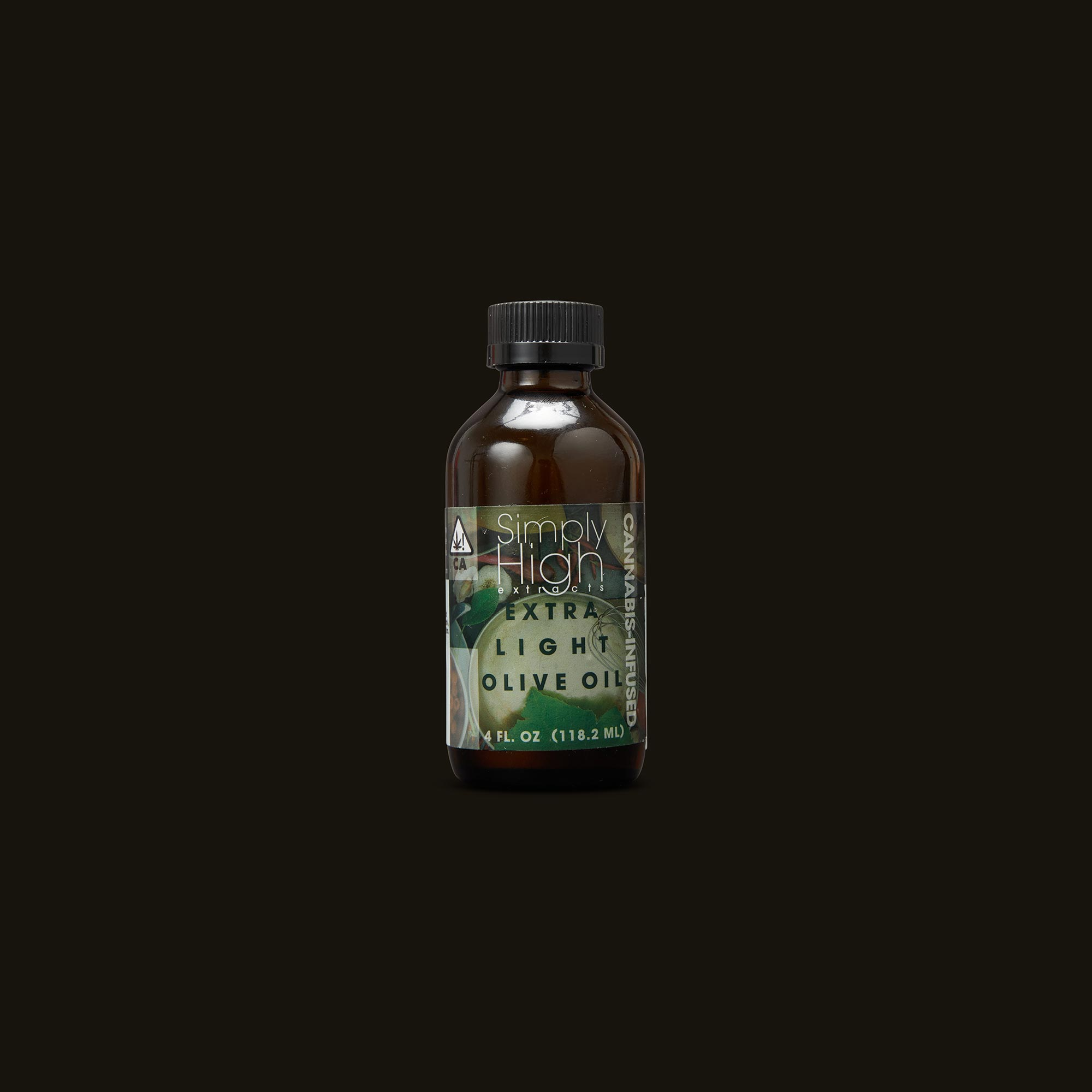 Simply High Extracts Extra Light Olive Oil Front Bottle