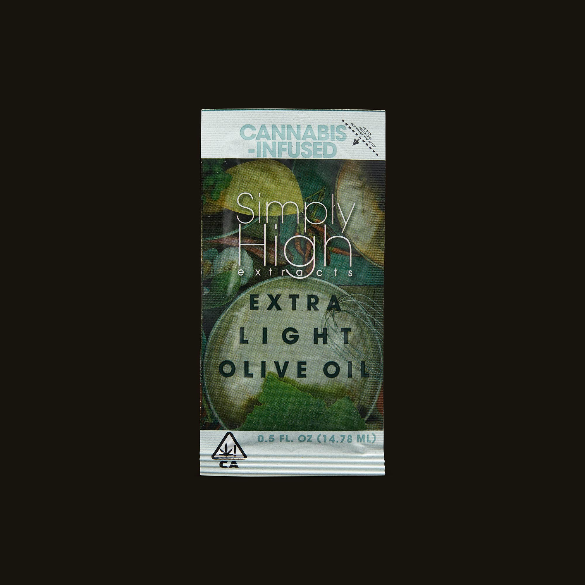 Simply High Extracts Extra Light Olive Oil Packet