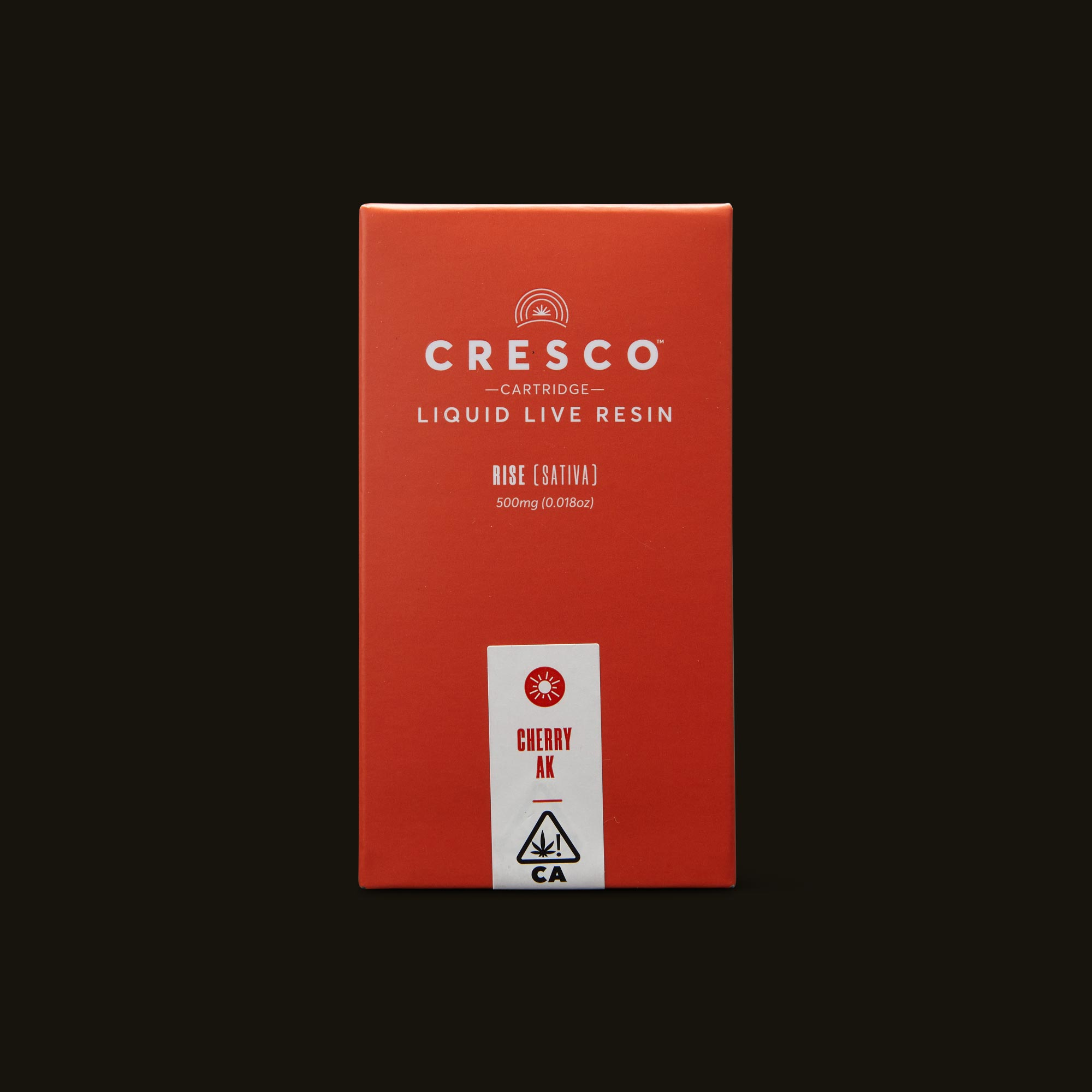 Cresco Cherry AK Liquid Live Resin Cartridge Front Packaging