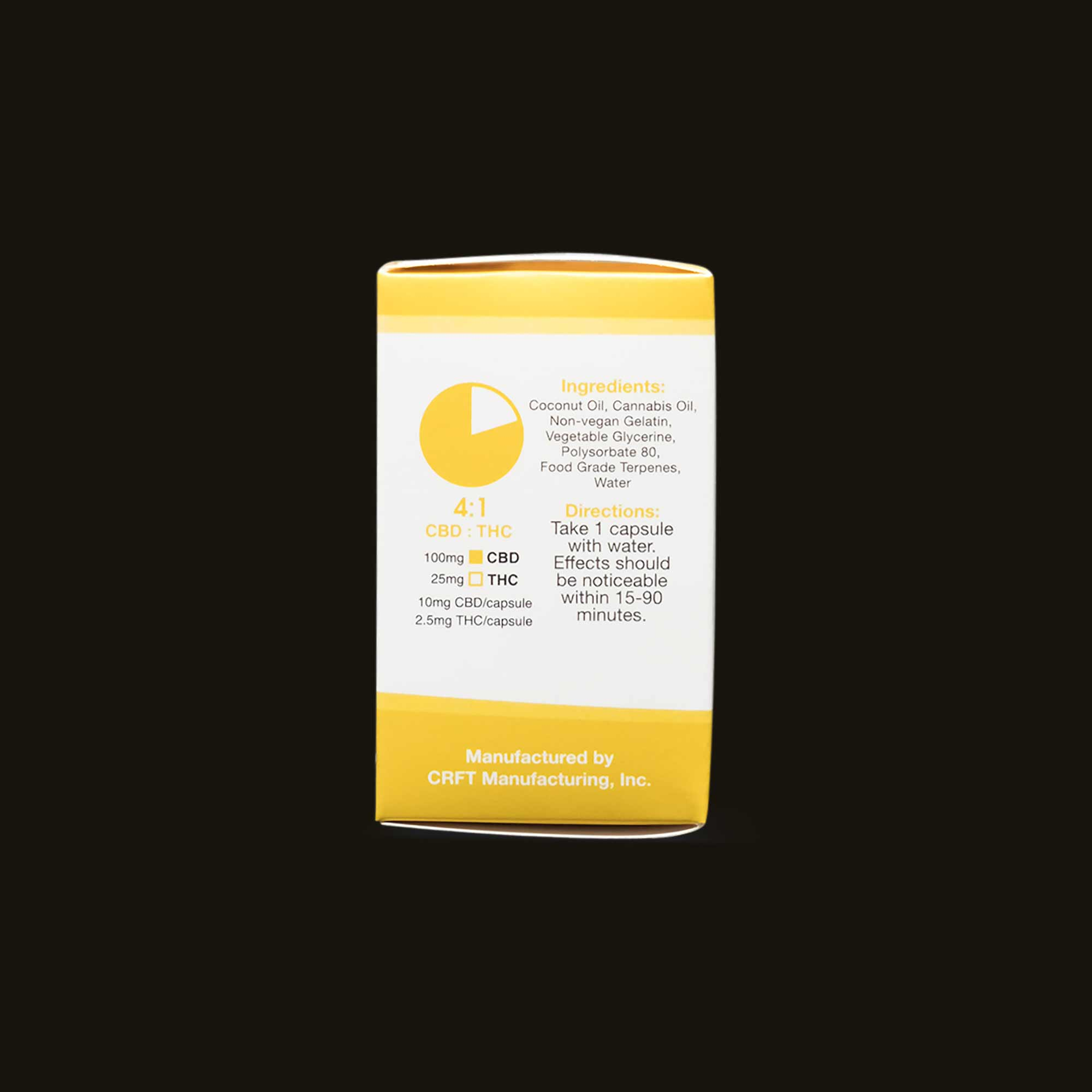 Back of Pack Care By Design CBD pills