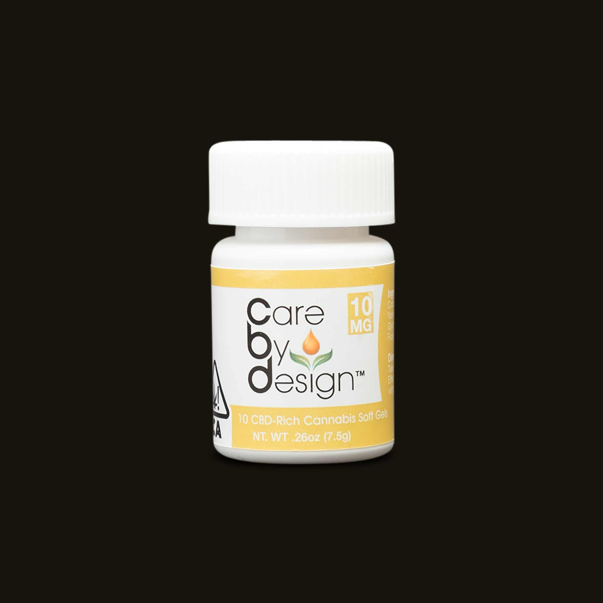 Bottle of Care By Design pills