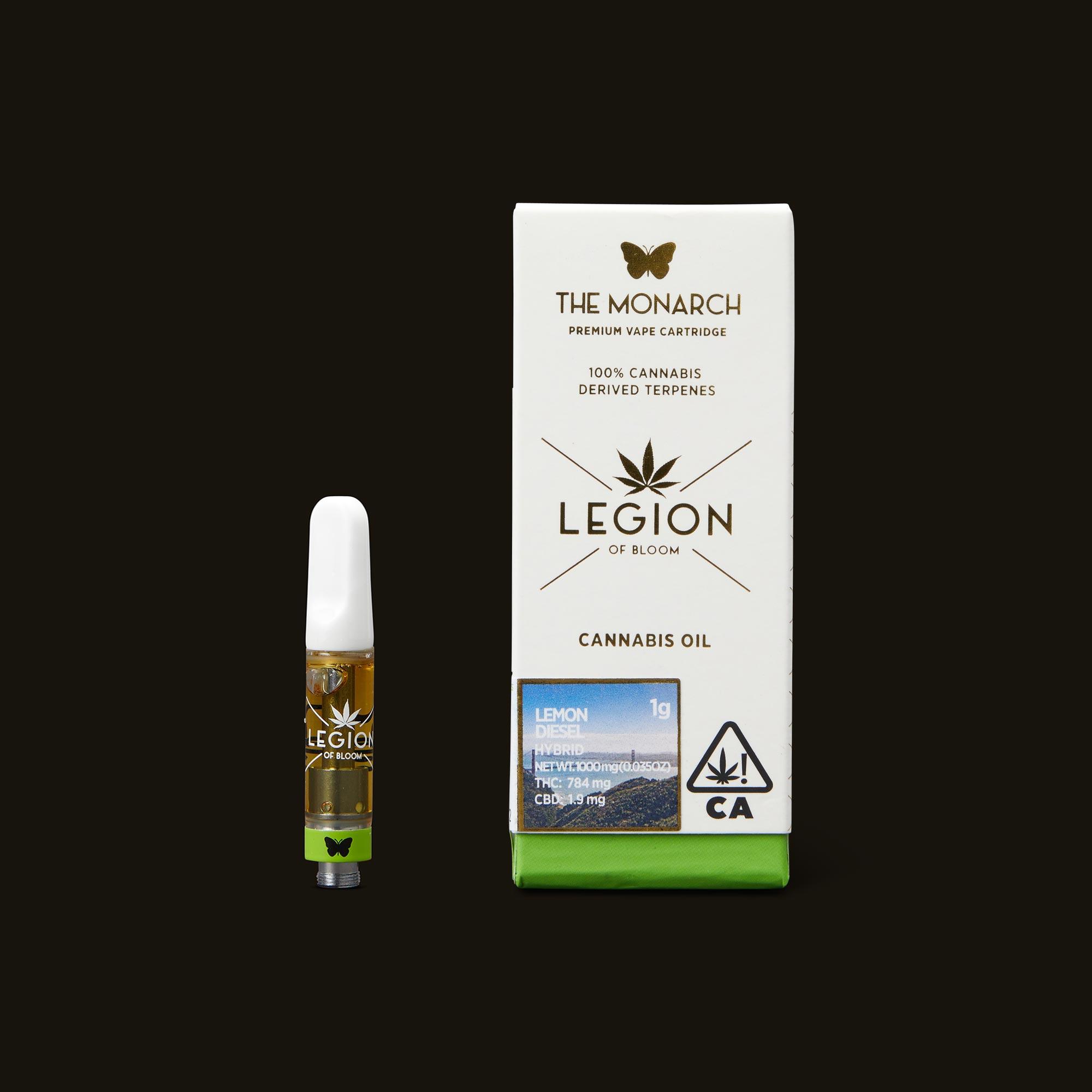 Legion of Bloom Lemon Diesel Monarch