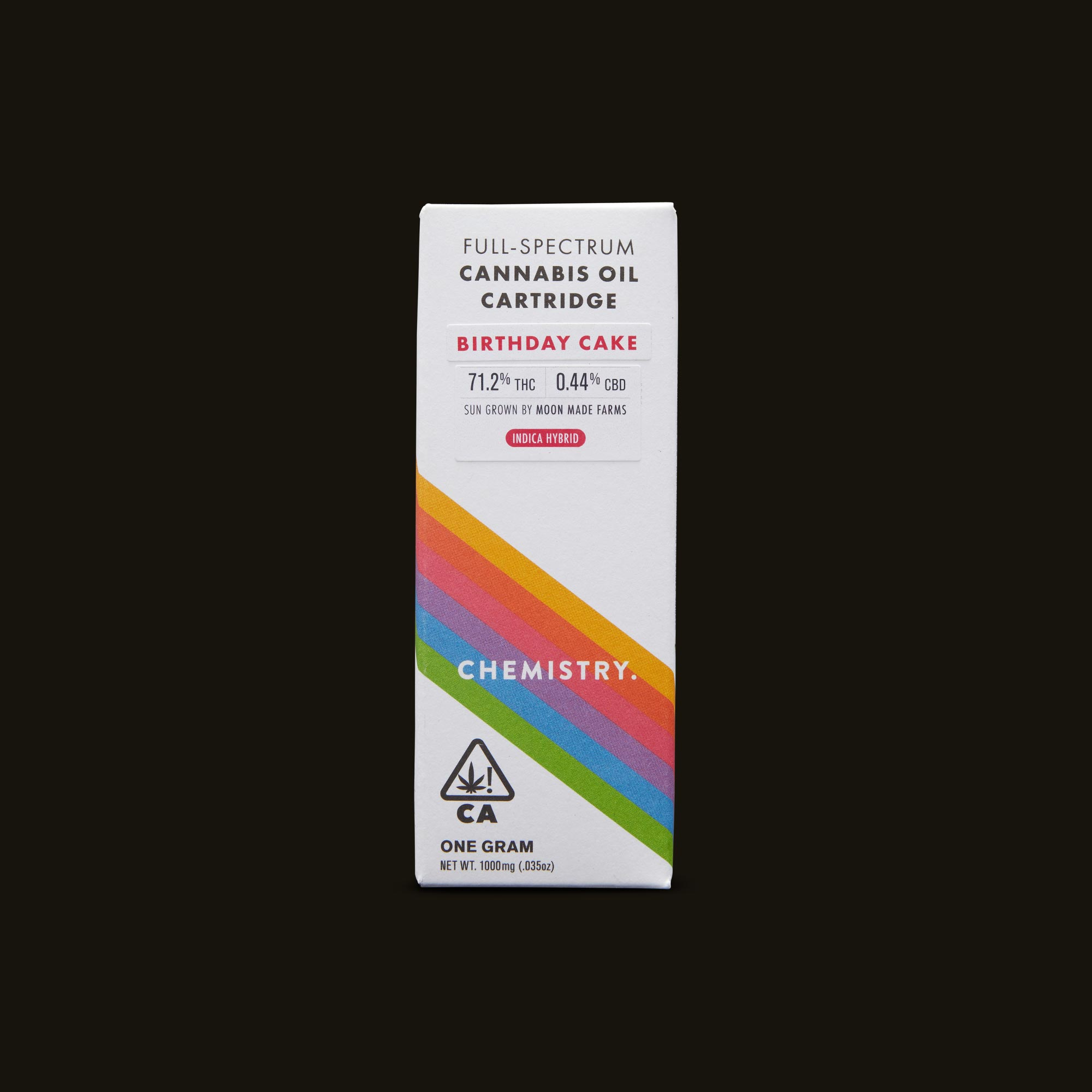 Chemistry Birthday Cake Cartridge Front Packaging