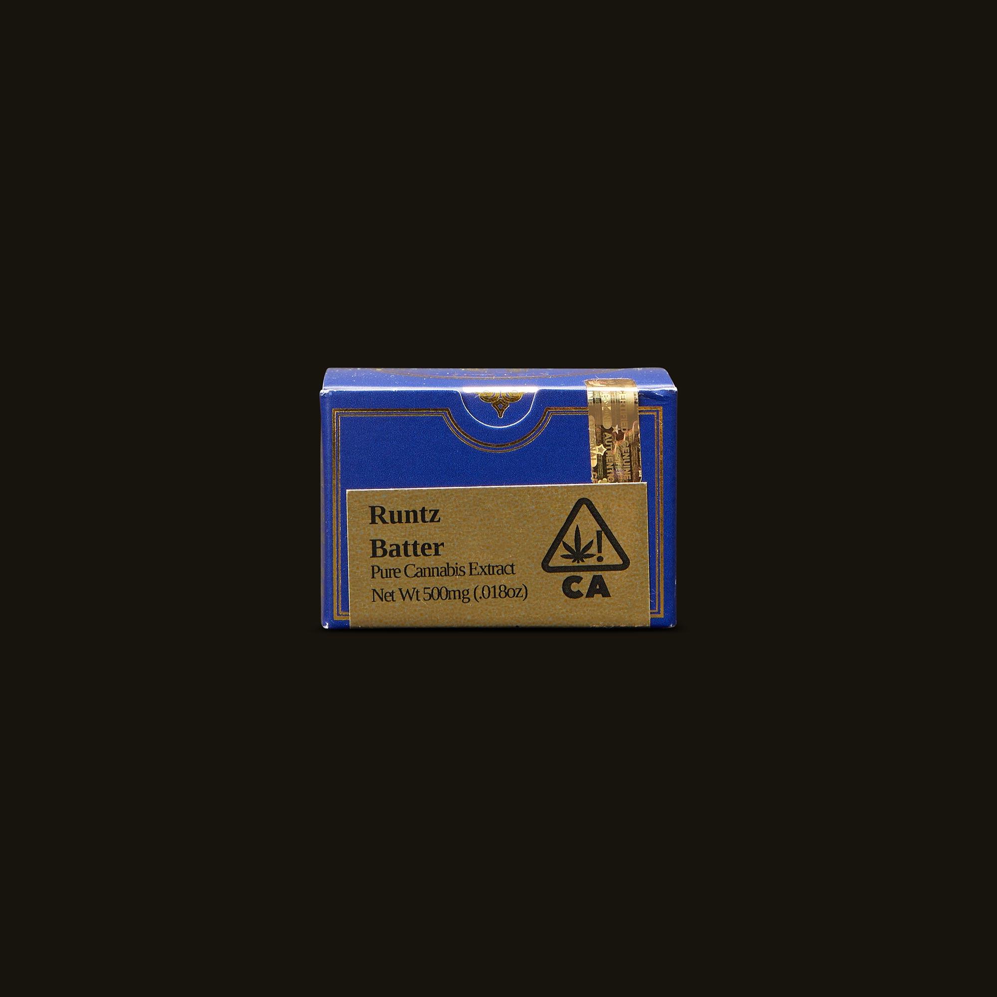 Guild Extracts Runtz Batter Front Packaging