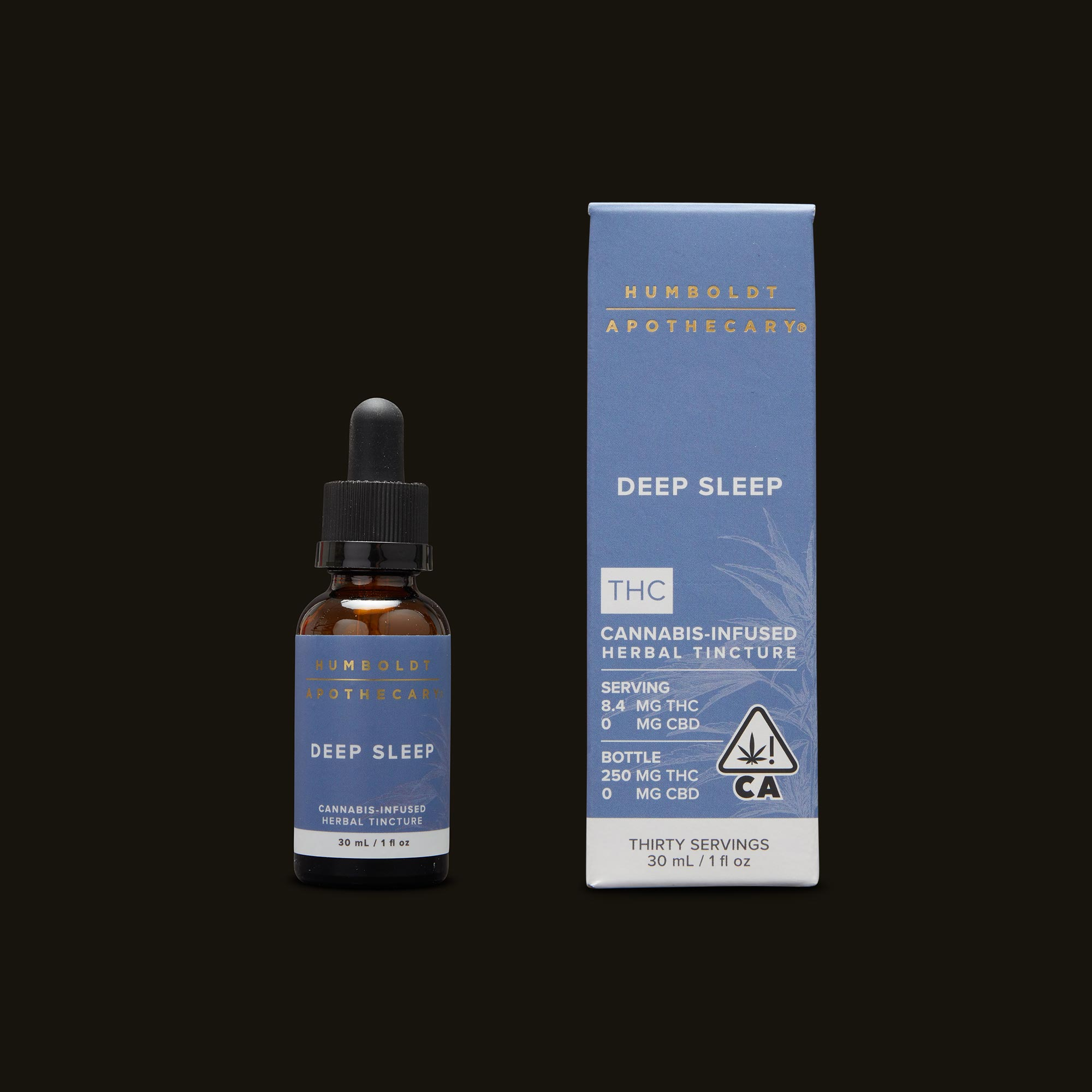 Humboldt Apothecary Deep Sleep Tincture and Packaging