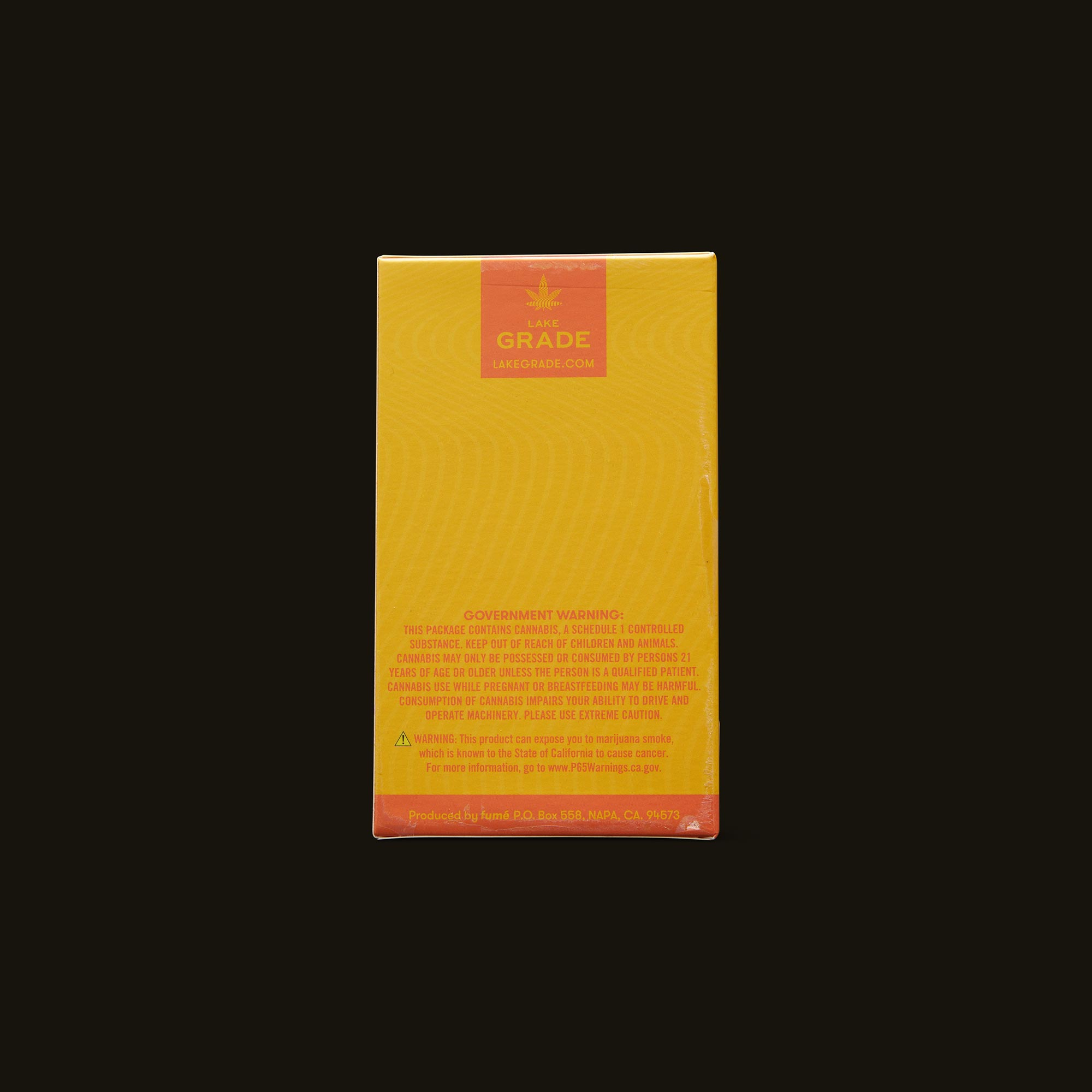 Lakegrade Lemon Sour Diesel Pre-Roll 5-Pack Back