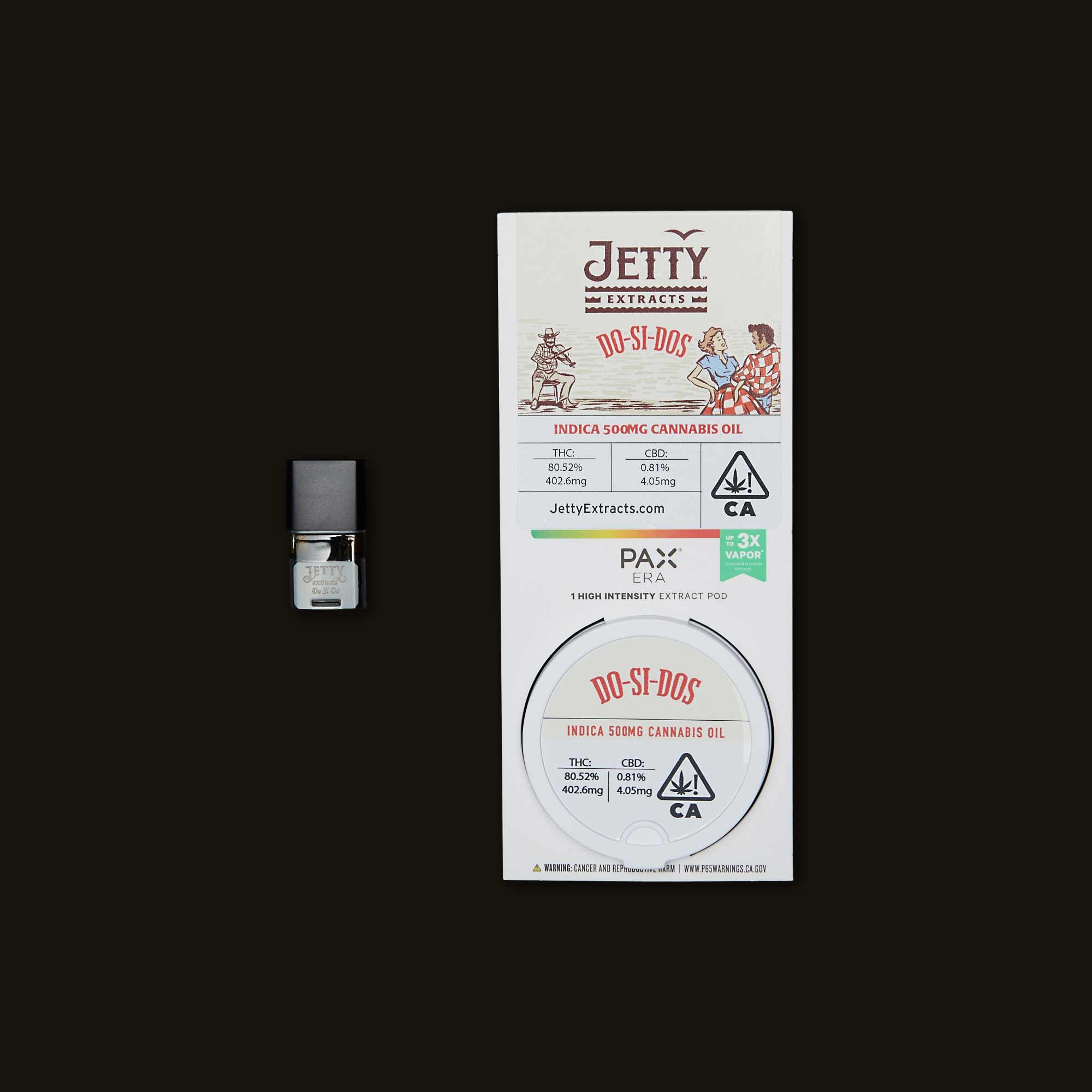Jetty Extracts Do-Si-Dos PAX Era Pod