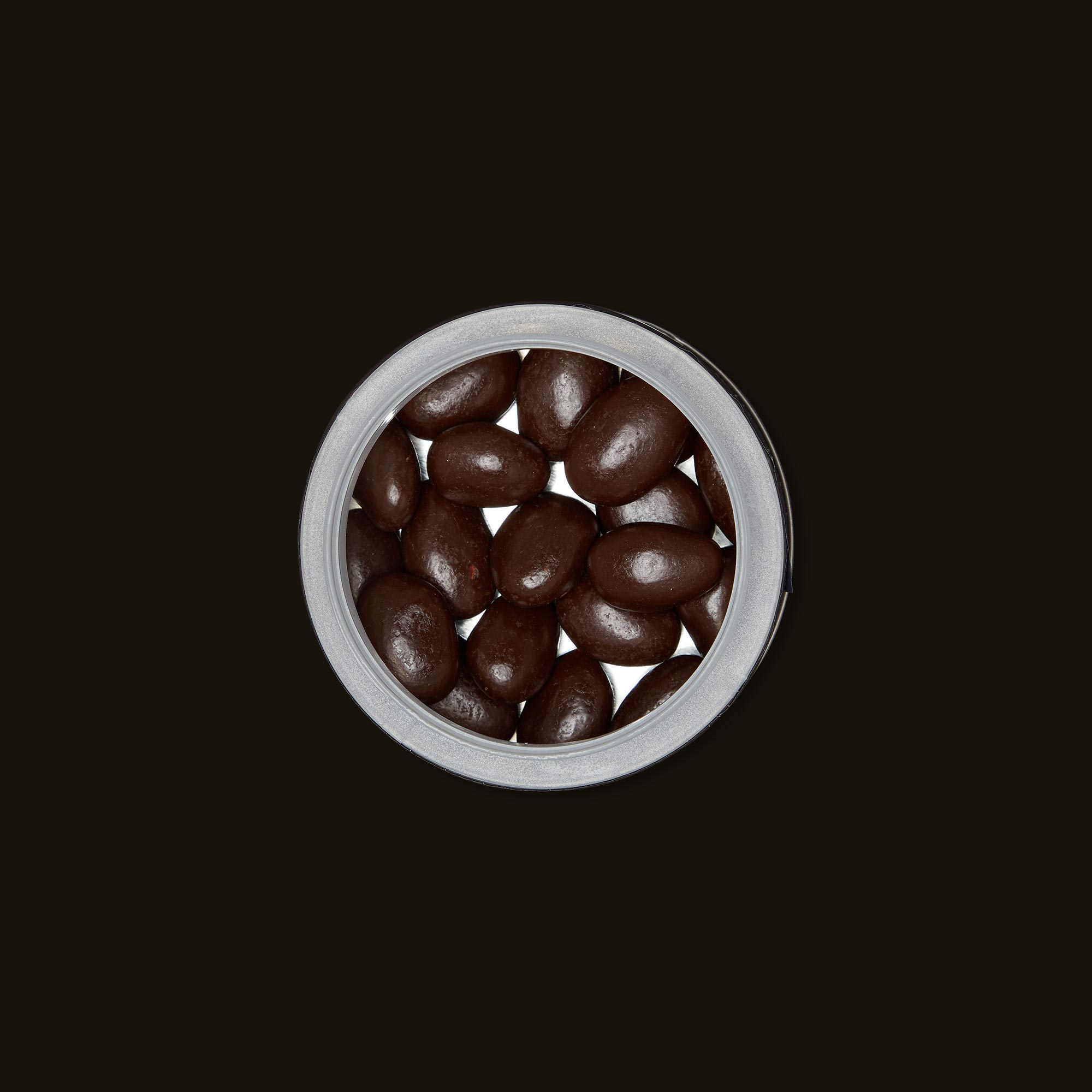 Satori Chocolates Sweet and Salty Almonds Open Packaging