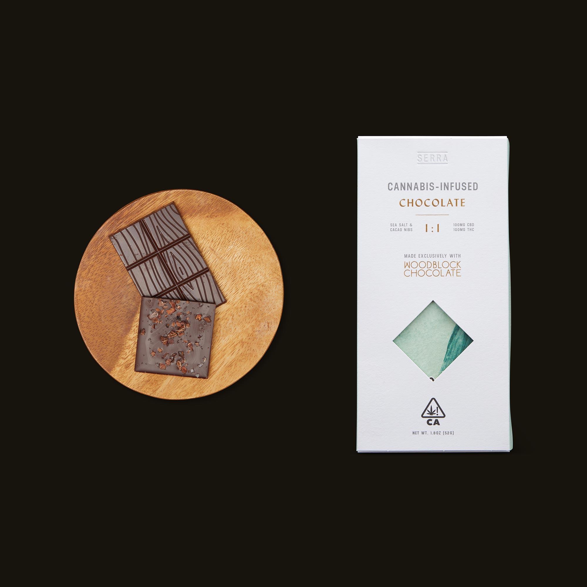 Serra Creativity 1:1 Salted Cacao Nib Chocolate