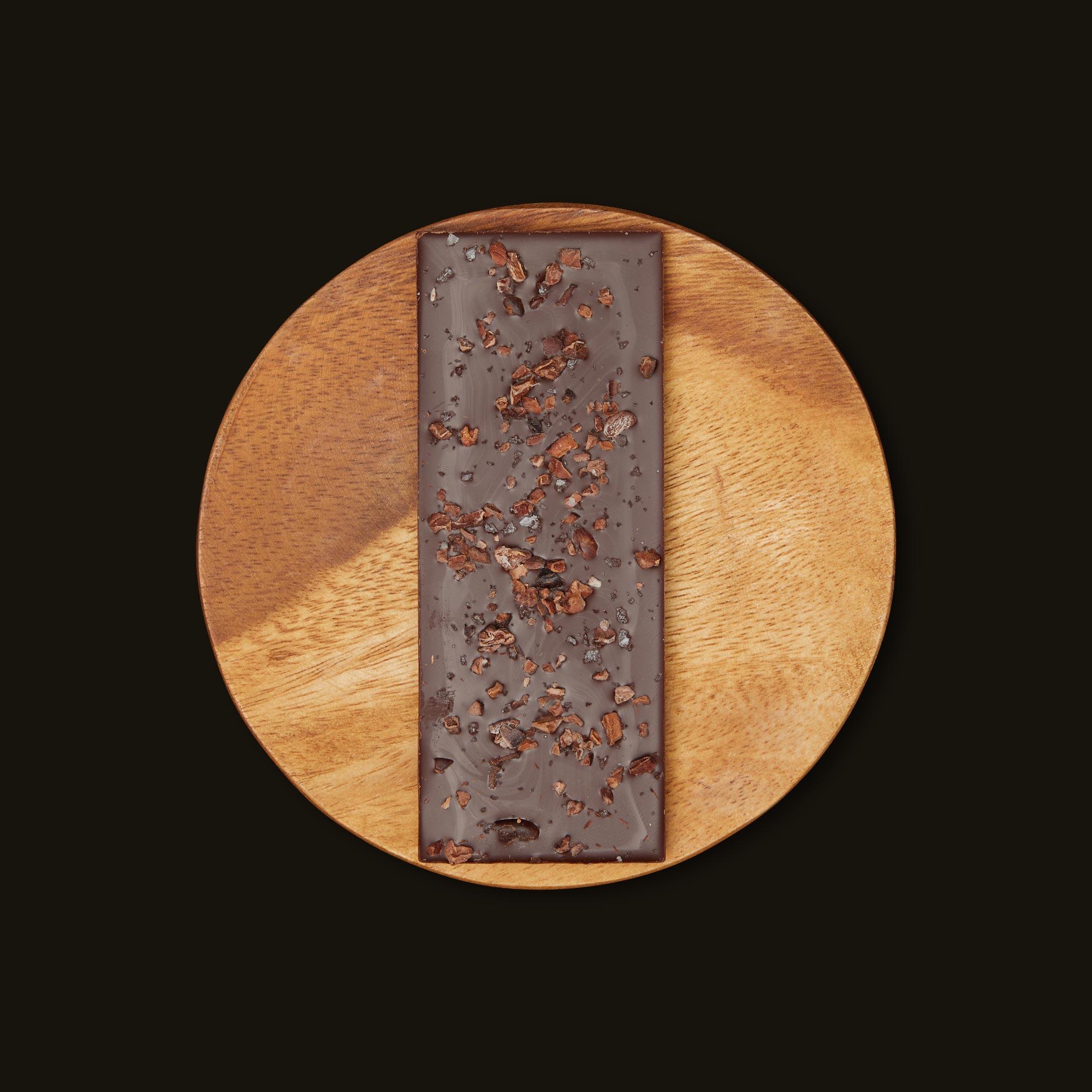 Serra Creativity 1:1 Salted Cacao Nib Chocolate Bar