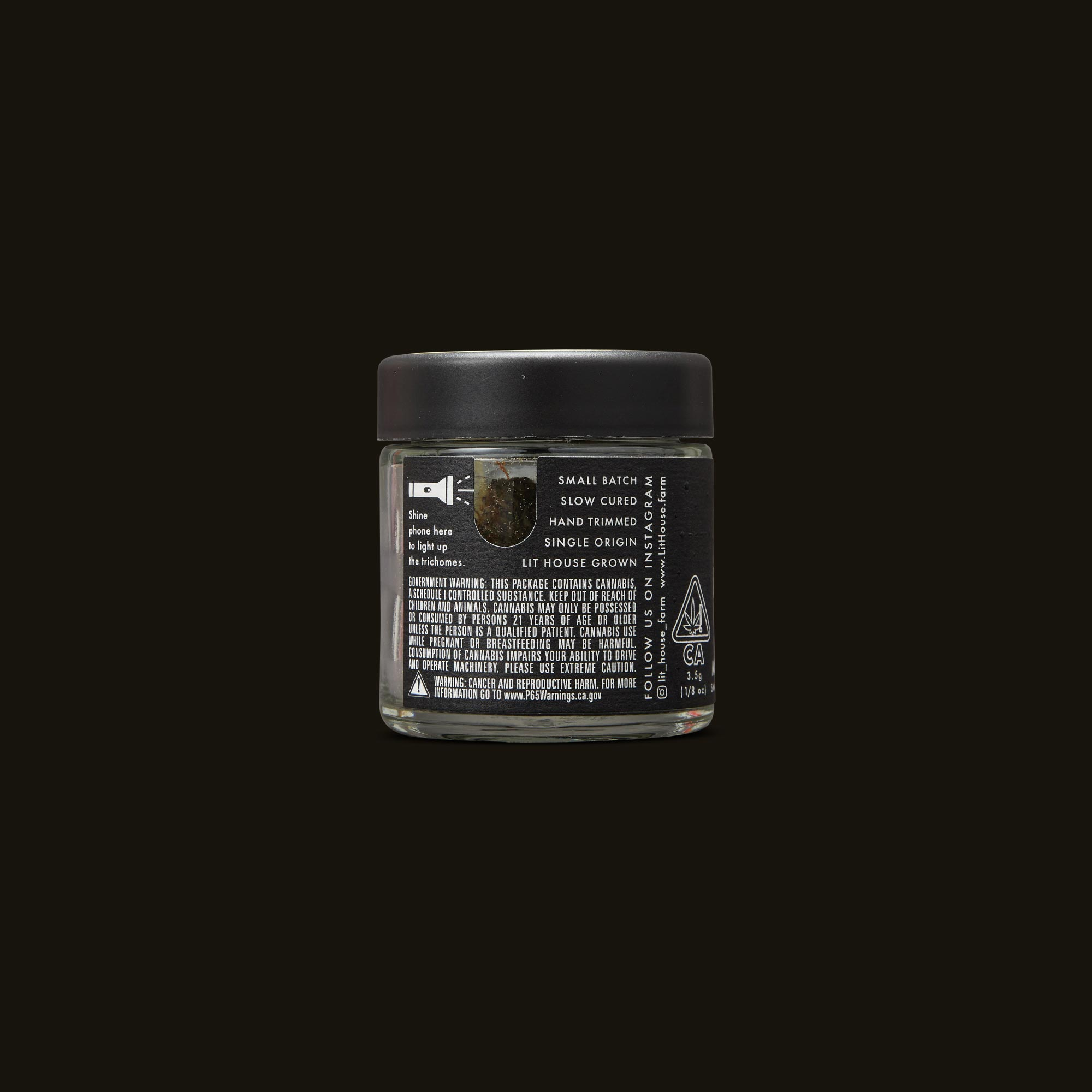 LitHouse Lemon Lava Back Jar