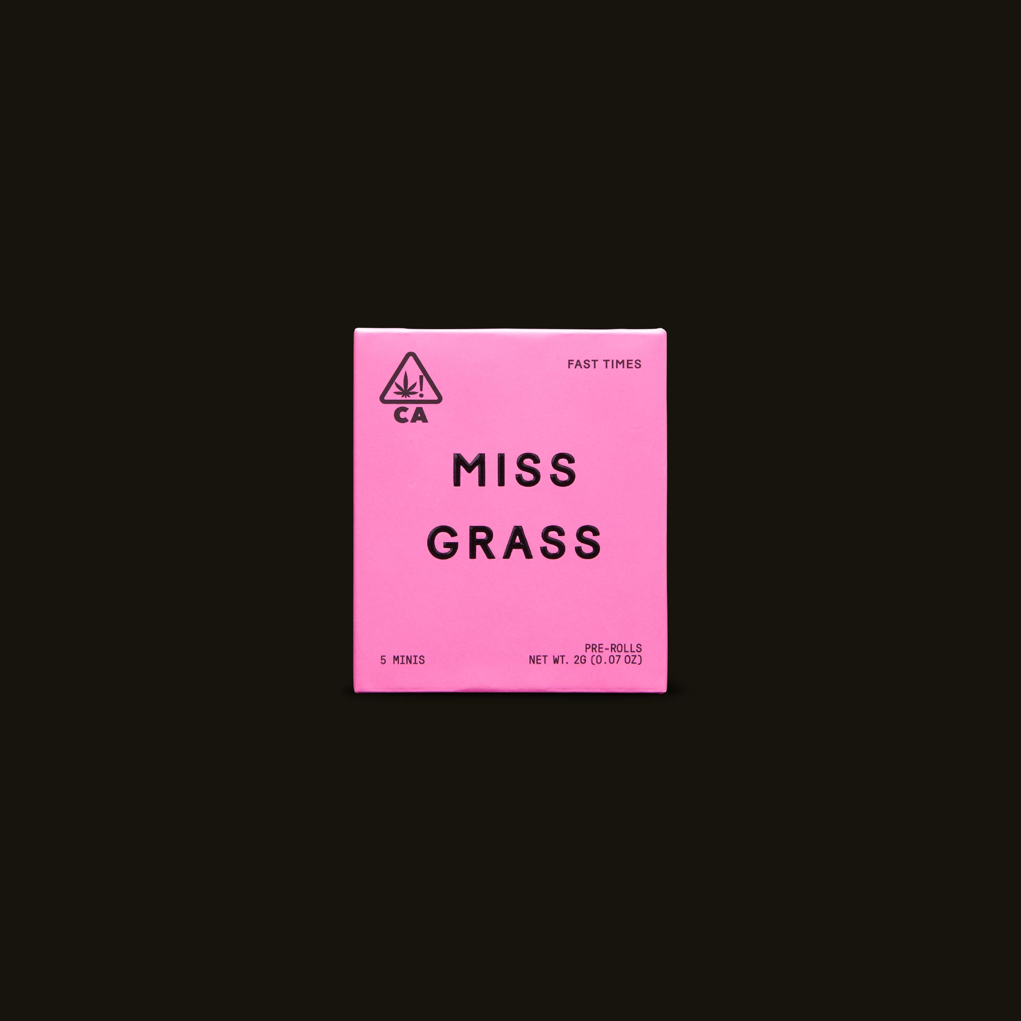 Miss Grass Fast Times Front Packaging