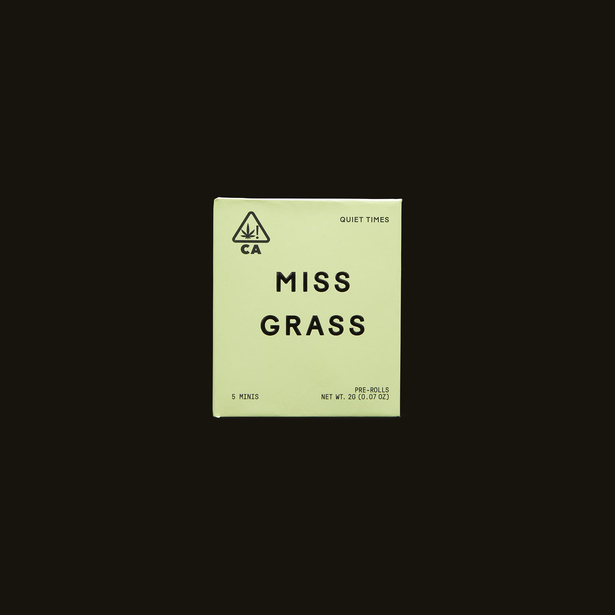 Miss Grass Quiet Times Minis Front Packaging