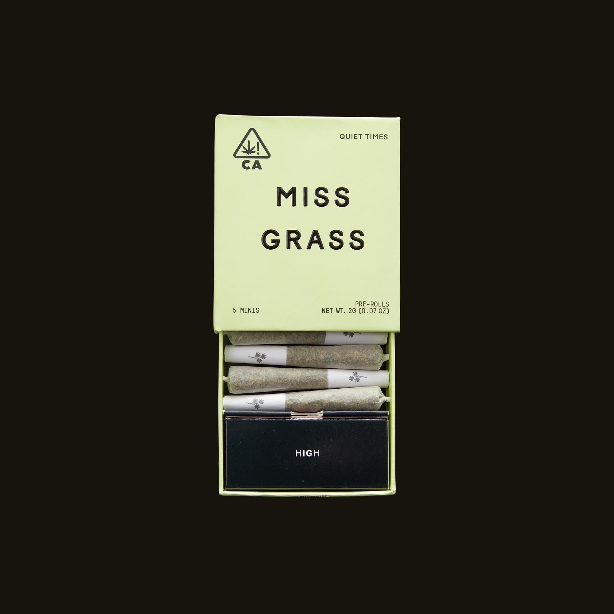 Miss Grass Quiet Times Minis Open Packaging