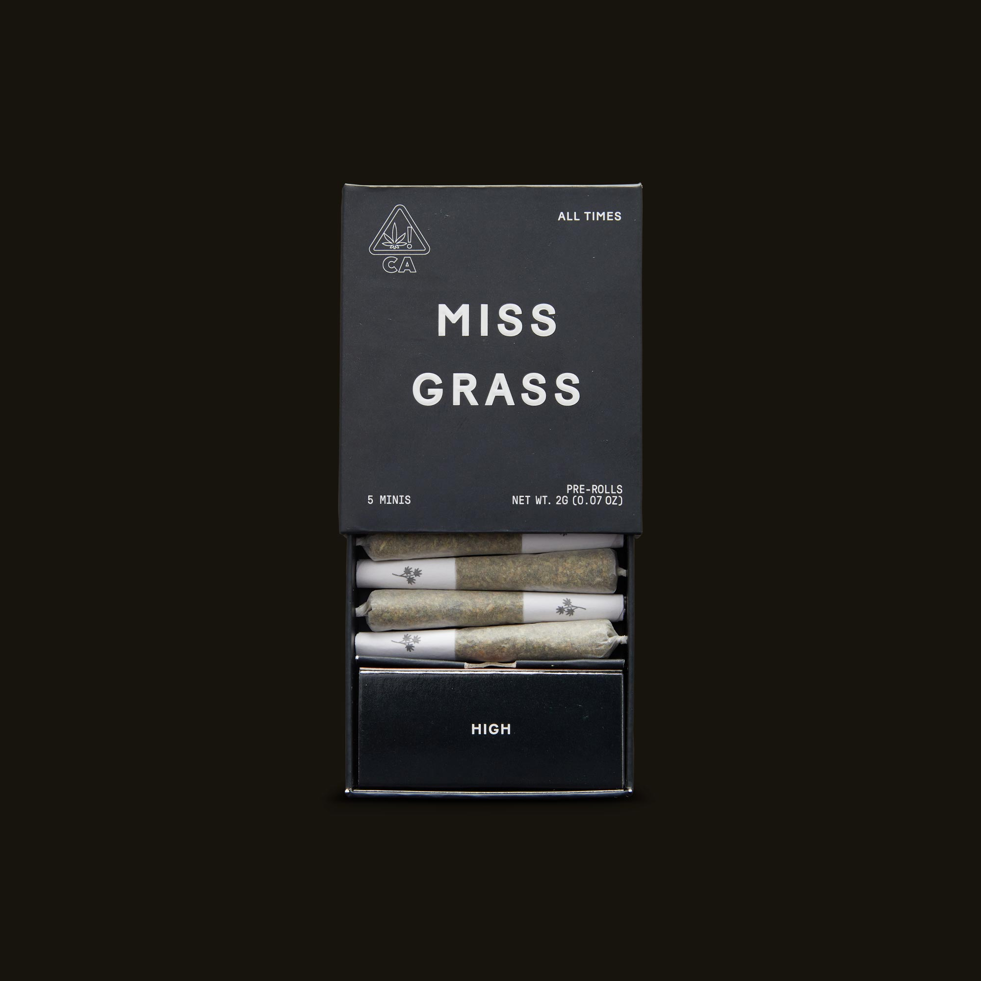 Miss Grass All Times Minis Open Packaging
