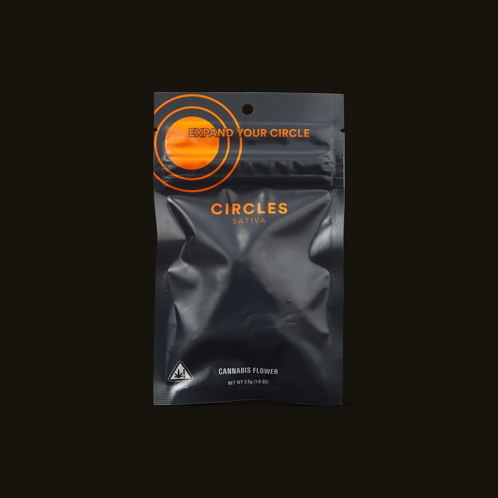 Circles Sweet Sour Diesel Base Camp Front Packaging