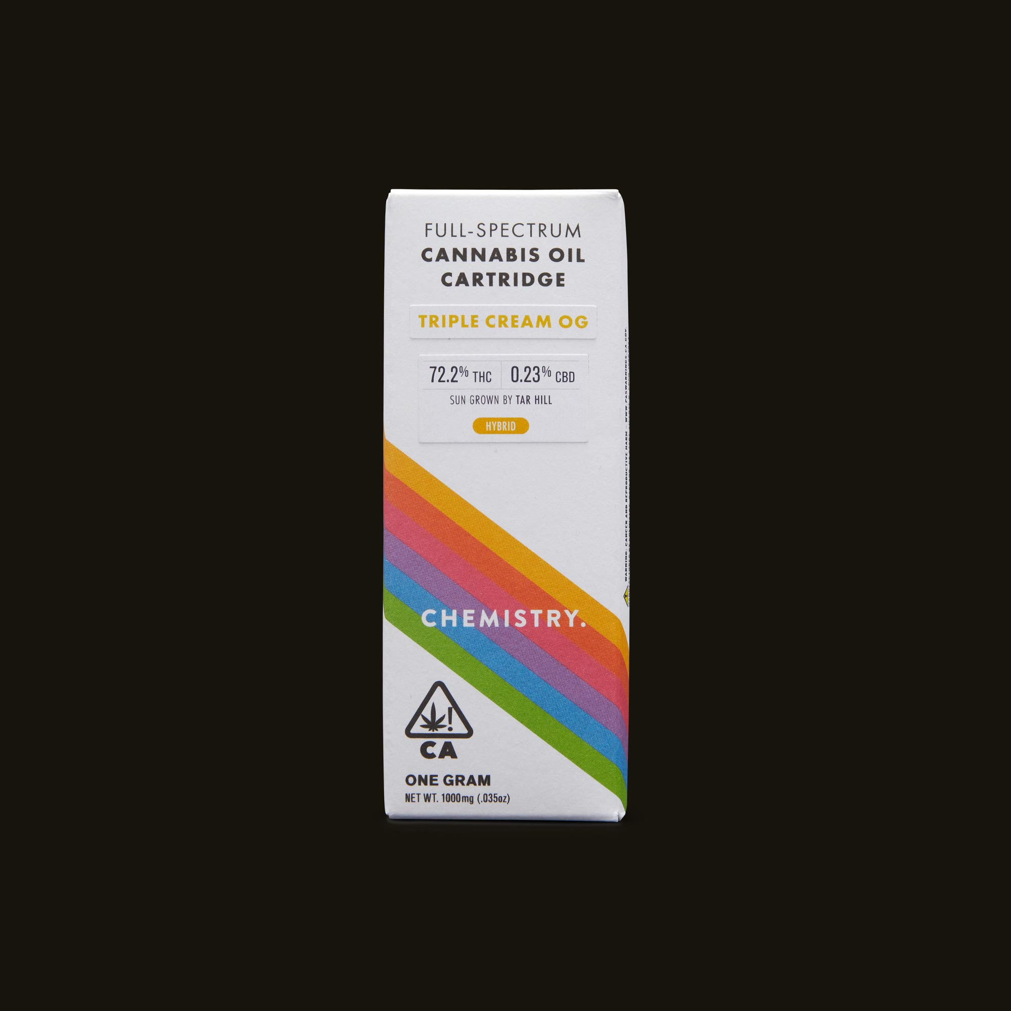 Chemistry Triple Cream OG Cartridge Front Packaging