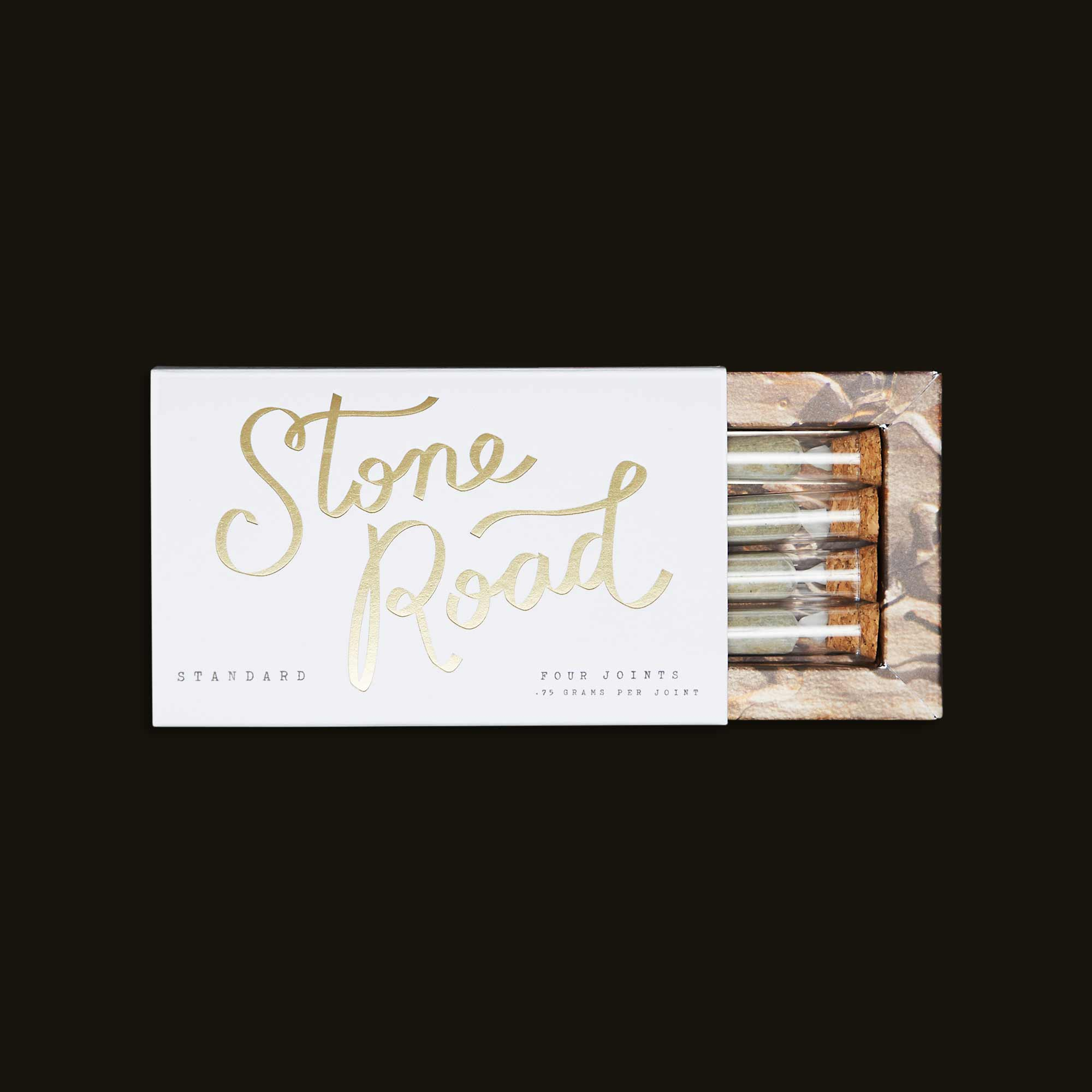 Stone Road Standard - Four 0.75g joints