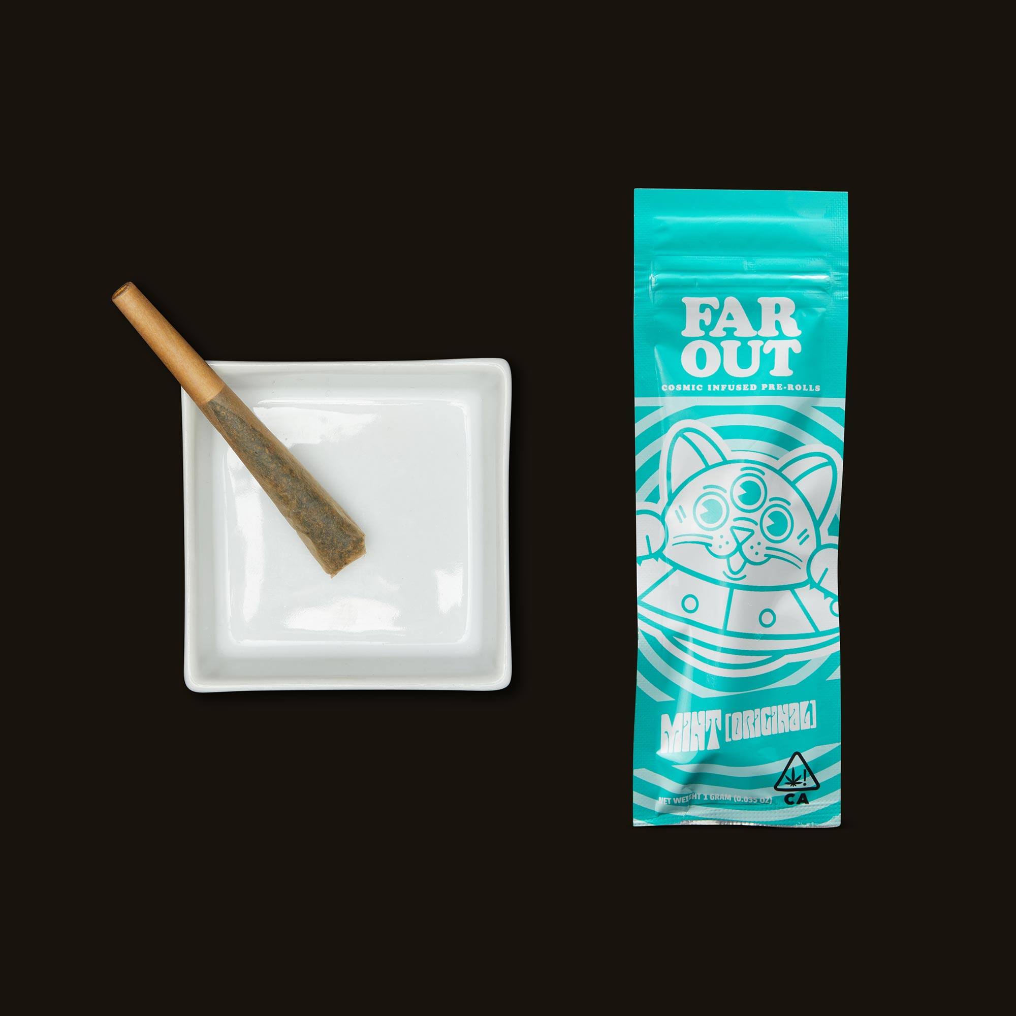 Far Out Mint Infused Pre-Roll