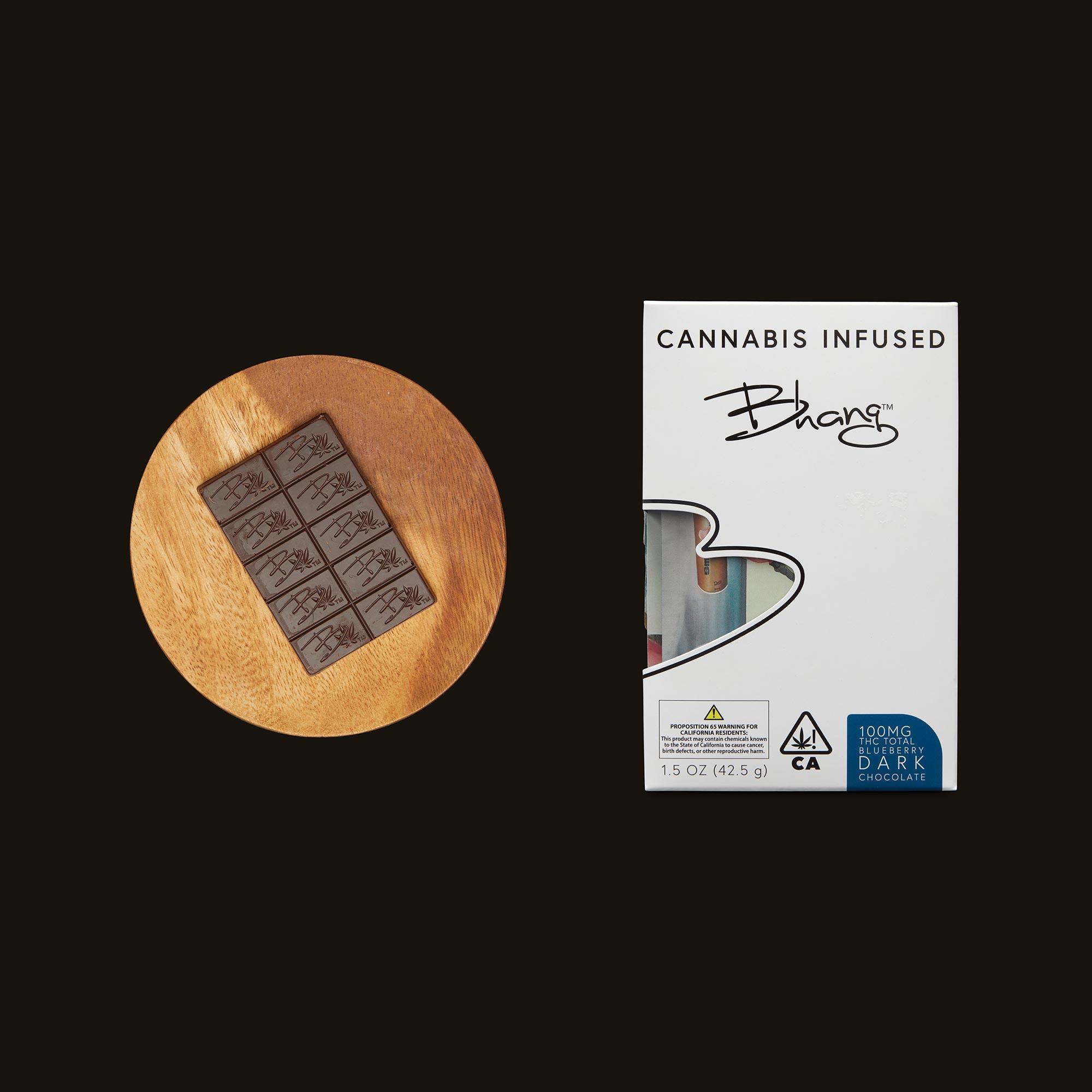Bhang Blueberry Dark Chocolate