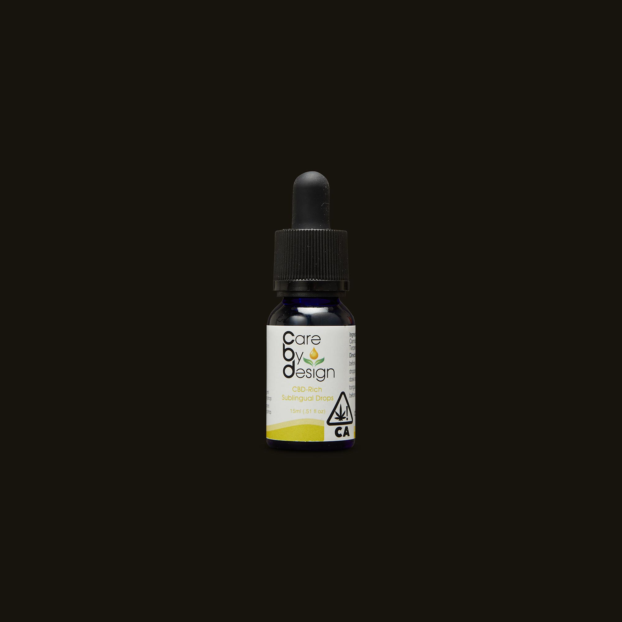 Care By Design 4:1 Sublingual Drops Front Tincture