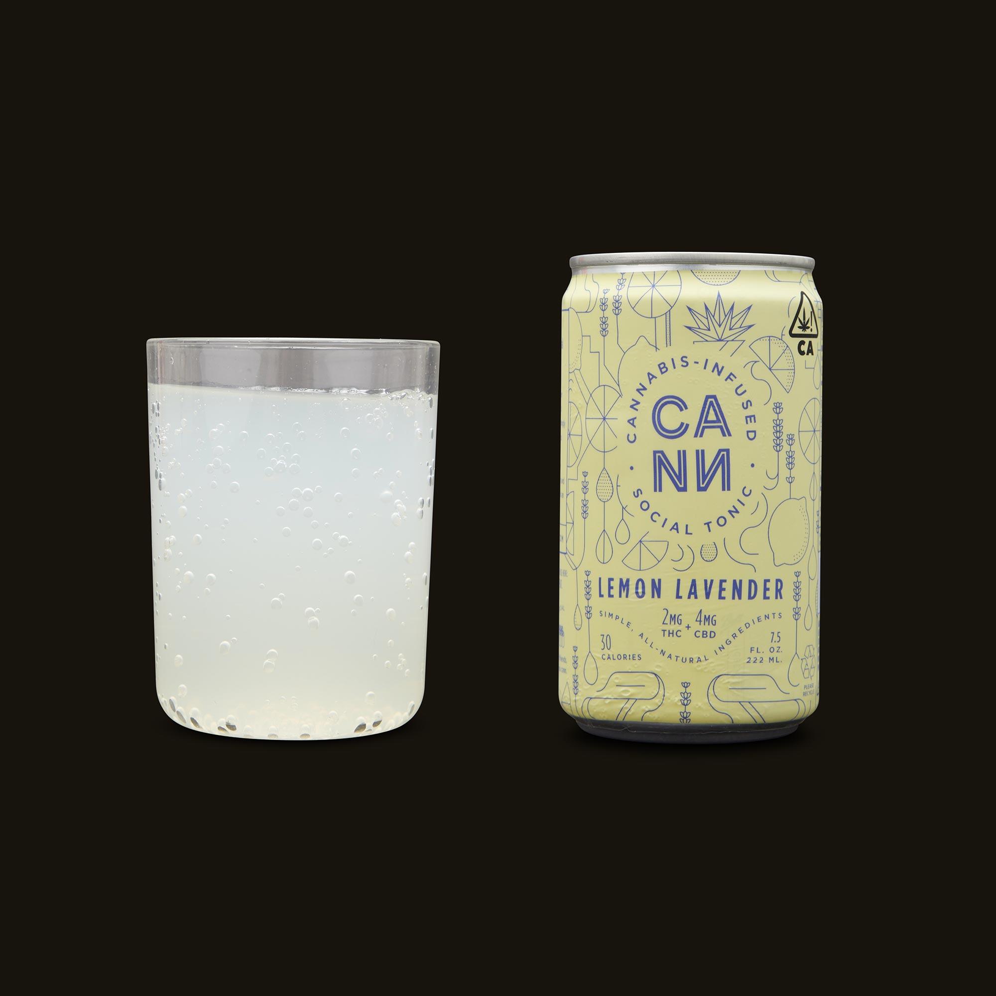 Cann Lemon Lavender Social Tonic