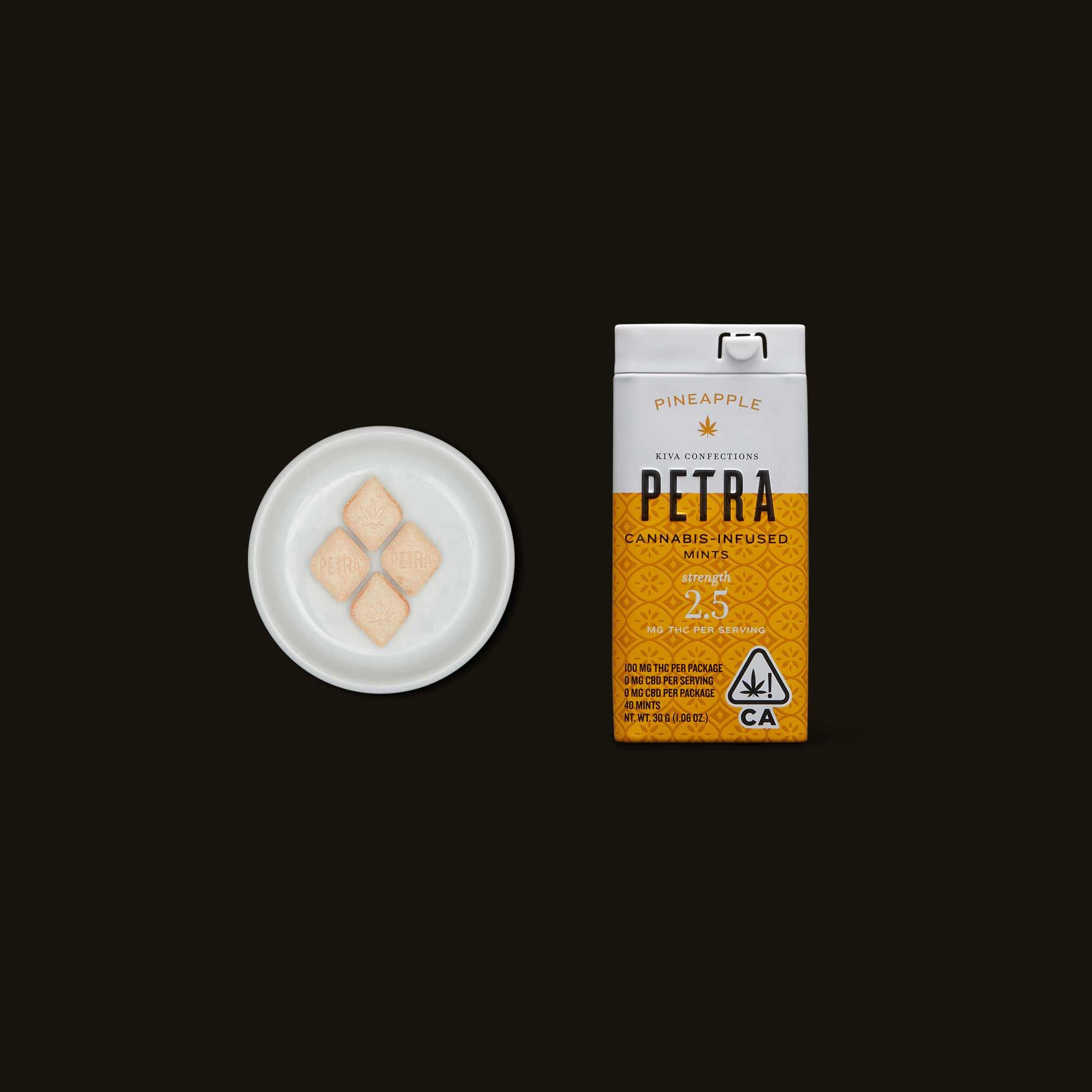 Kiva Confections Petra Pineapple Mints