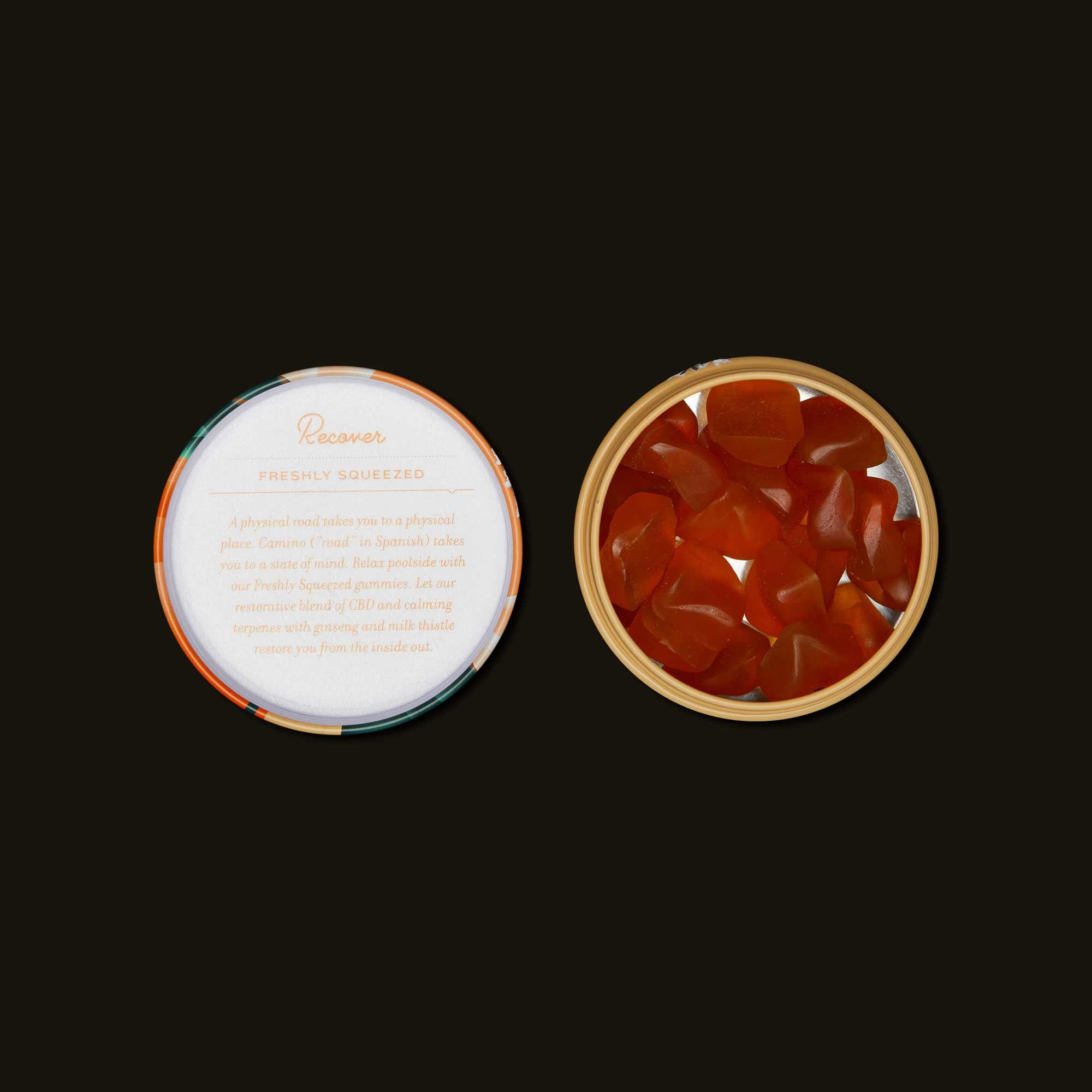 Kiva Confections Camino Freshly Squeezed Orange Gummies