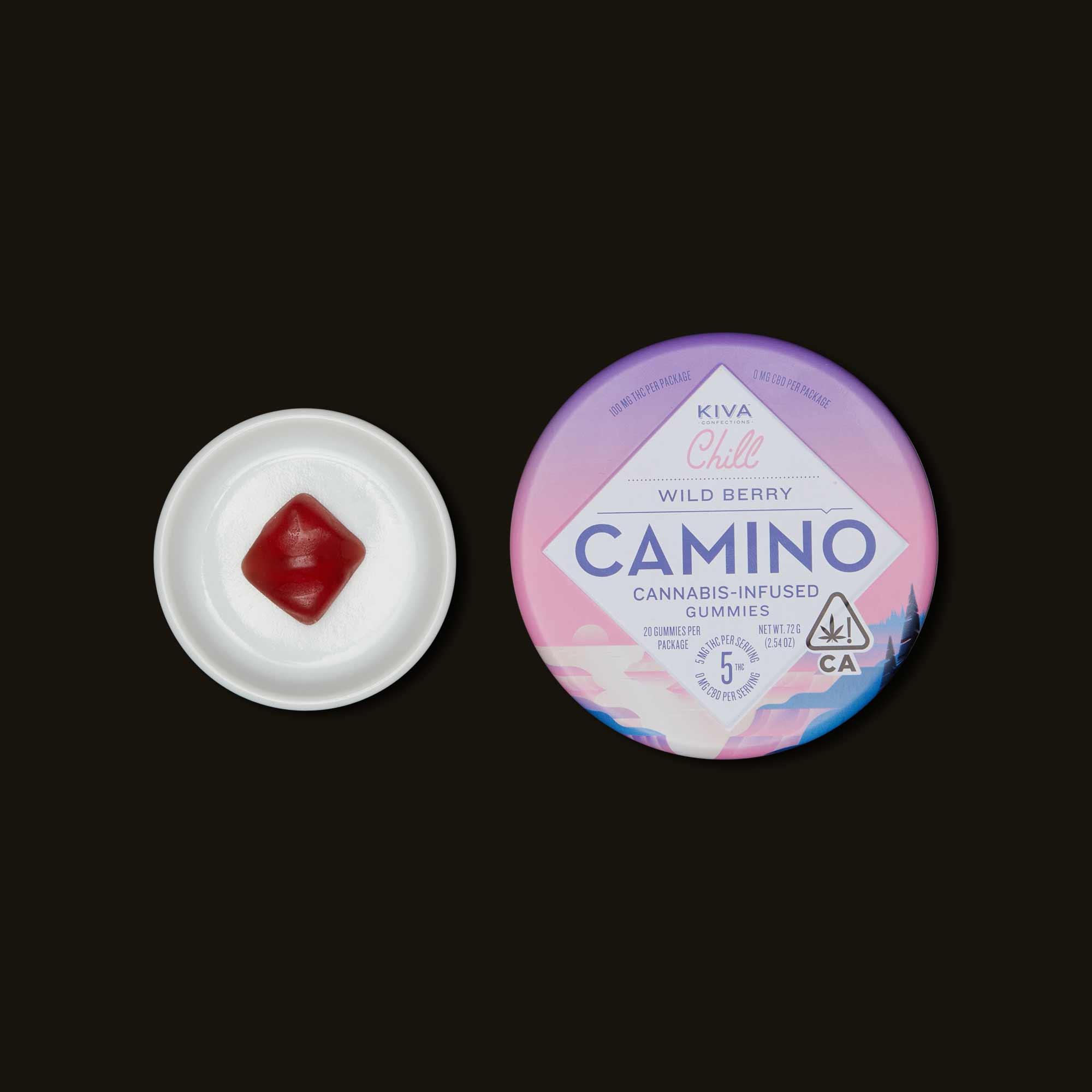 Kiva Confections Camino Wild Berry Gummies