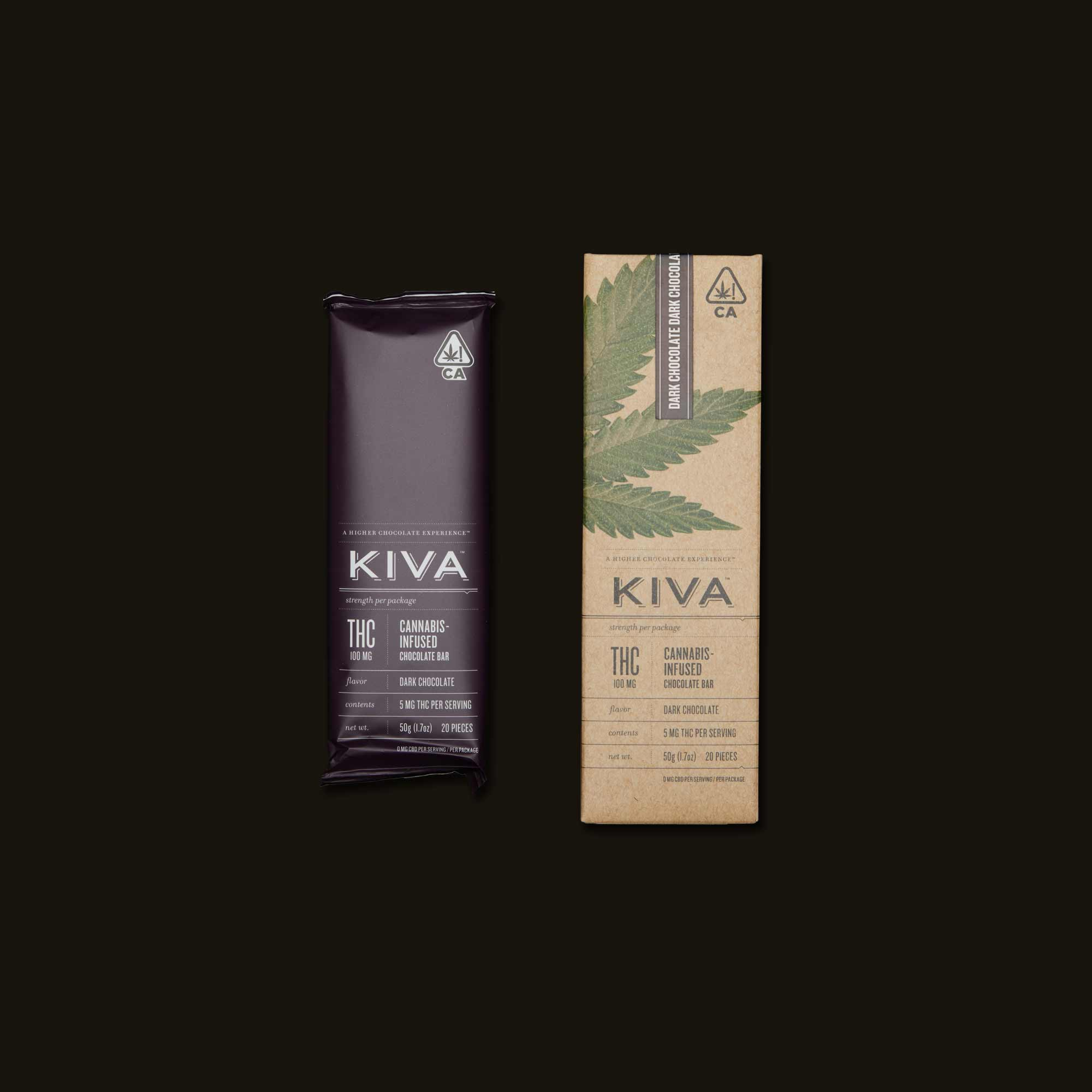 Chocolates Edible by Kiva Confections