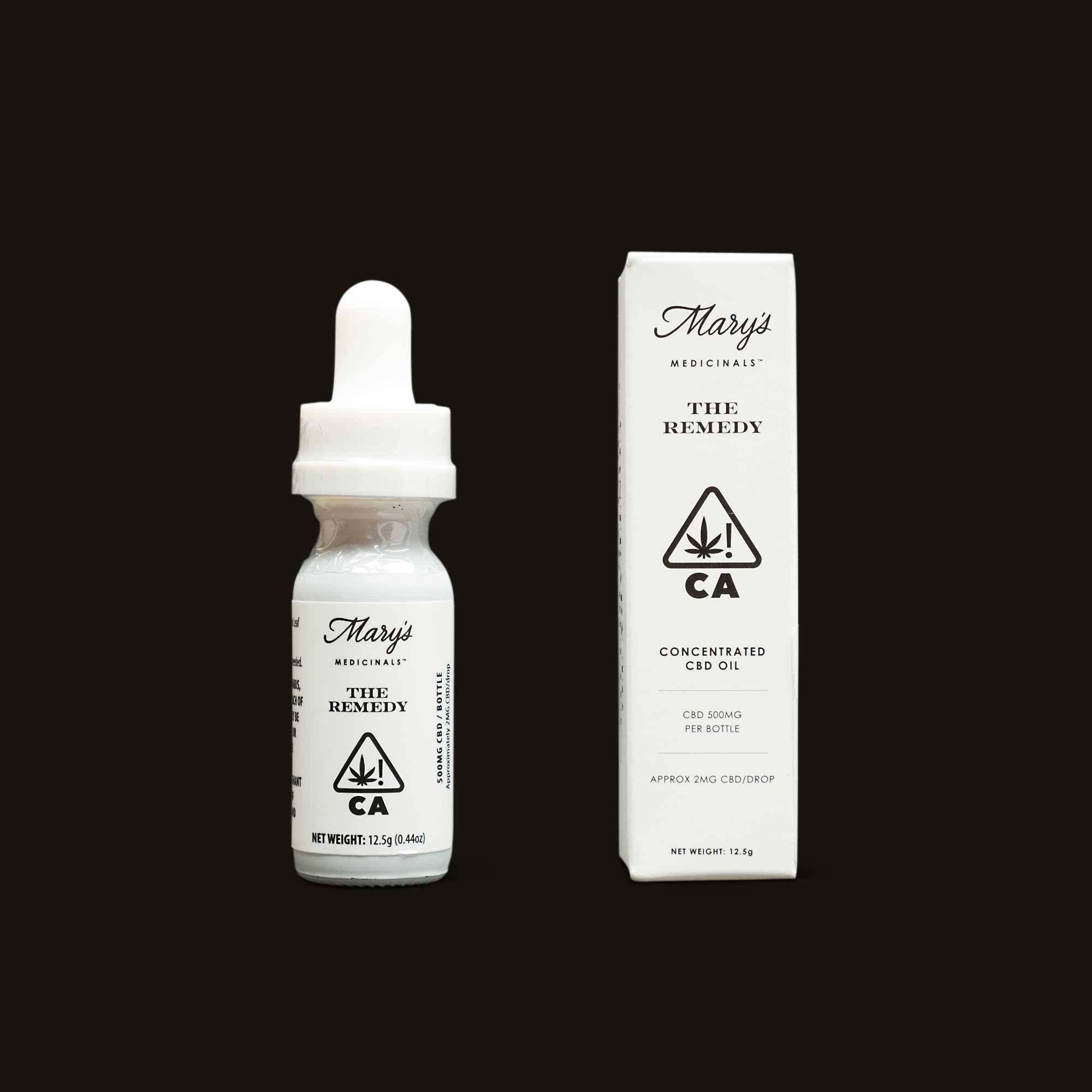 Mary's Medicinals The Remedy CBD Tincture
