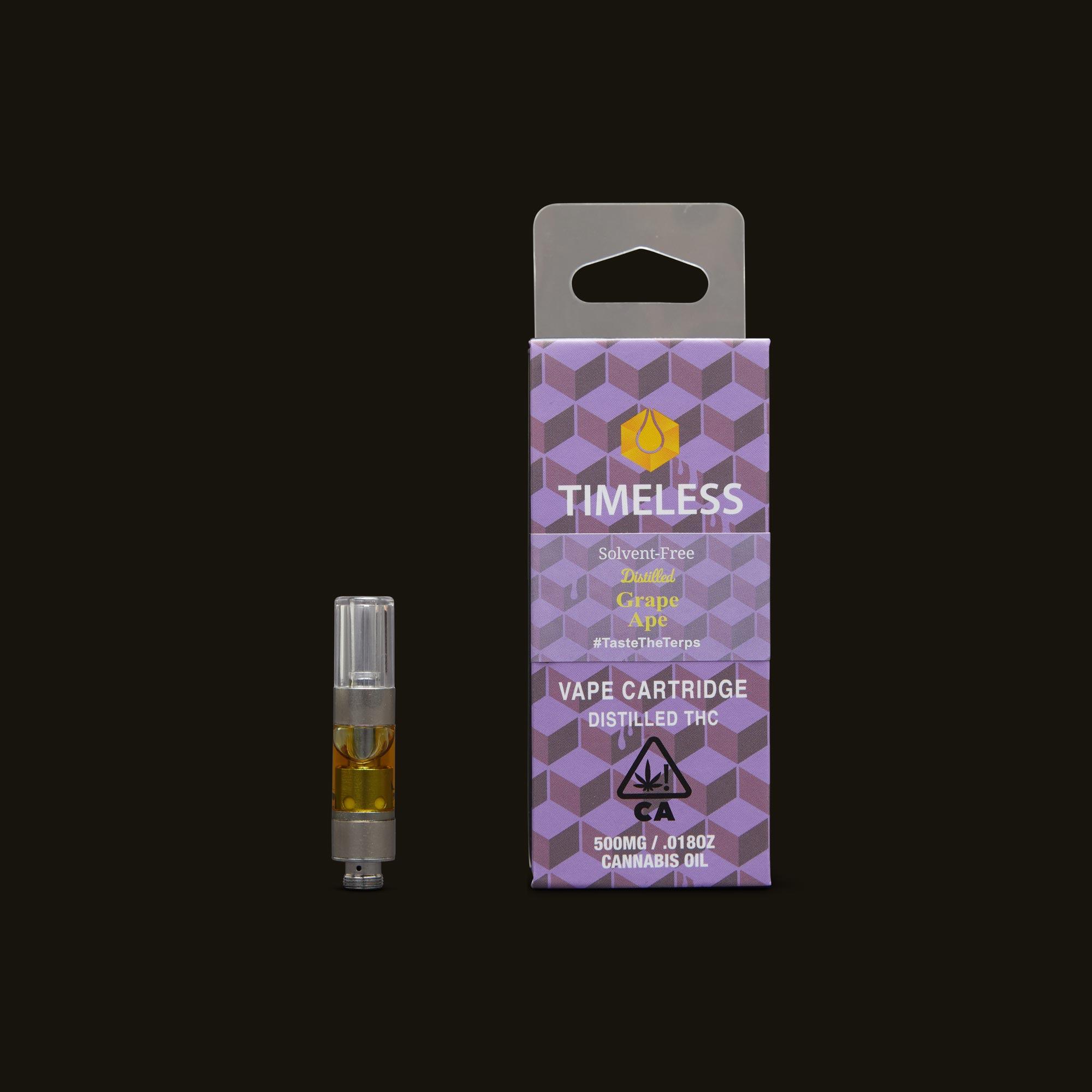 Timeless Vapes Grape Ape Cartridge