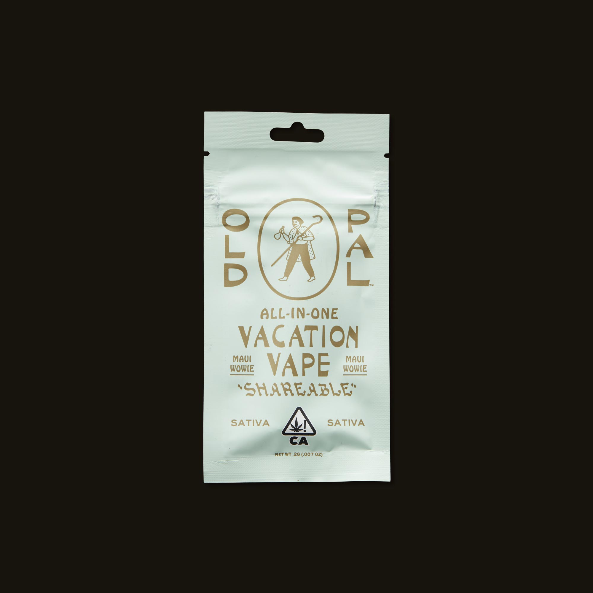 OLD PAL Maui Wowie Vacation Vape Front Packaging