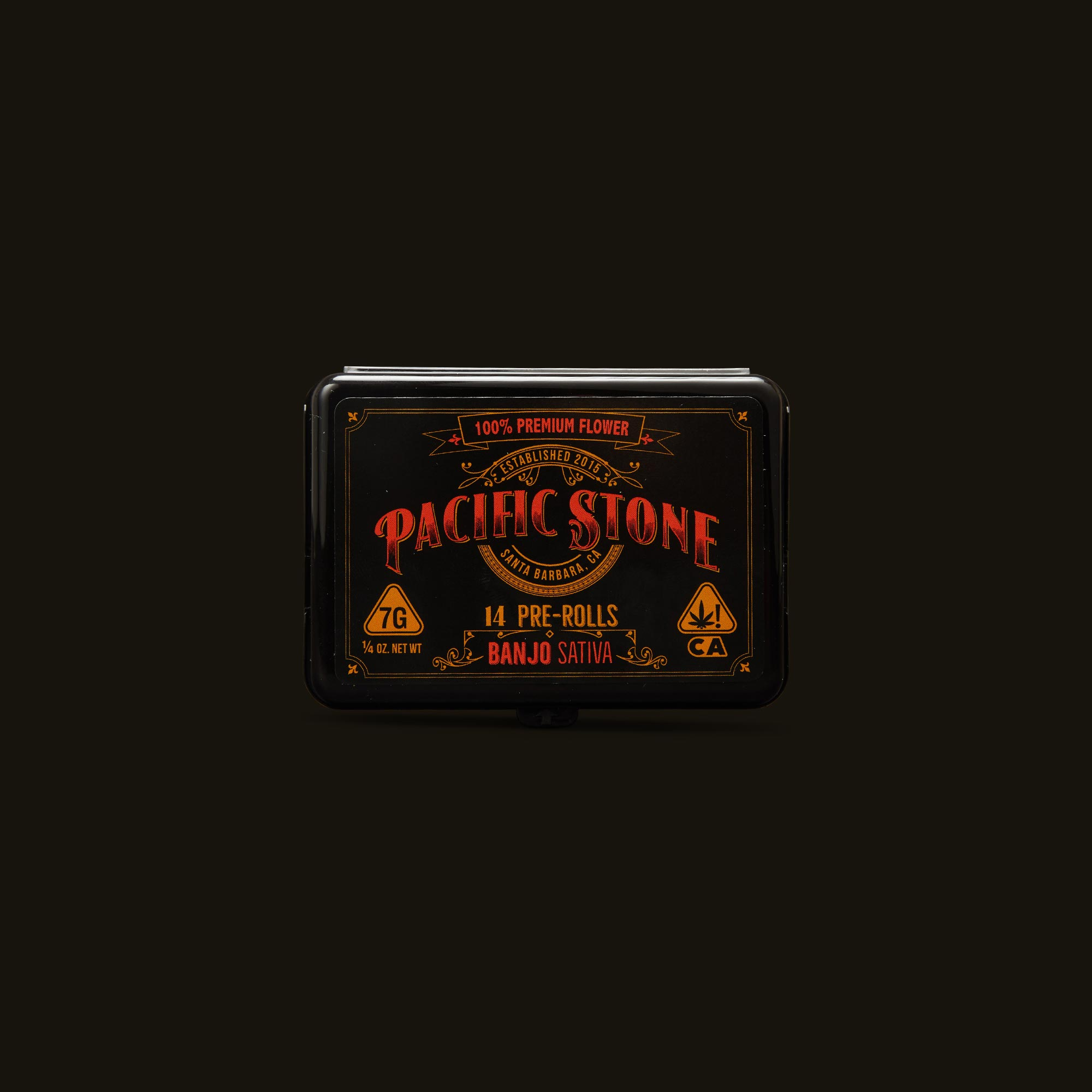 Pacific Stone Banjo Pre-Rolls Front Packaging