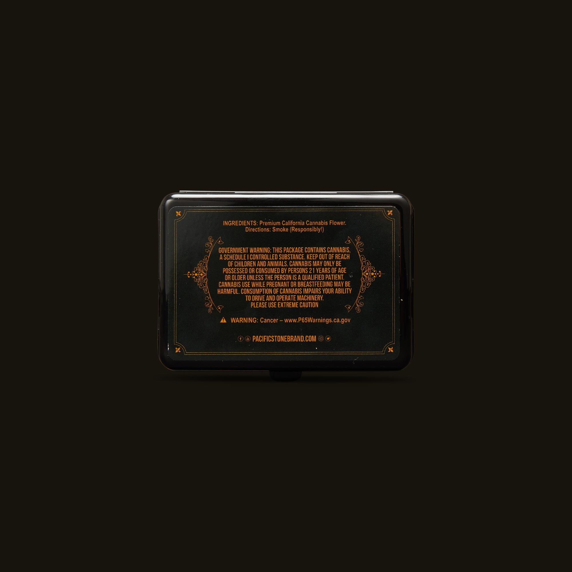 Pacific Stone Banjo Pre-Rolls Ingredients
