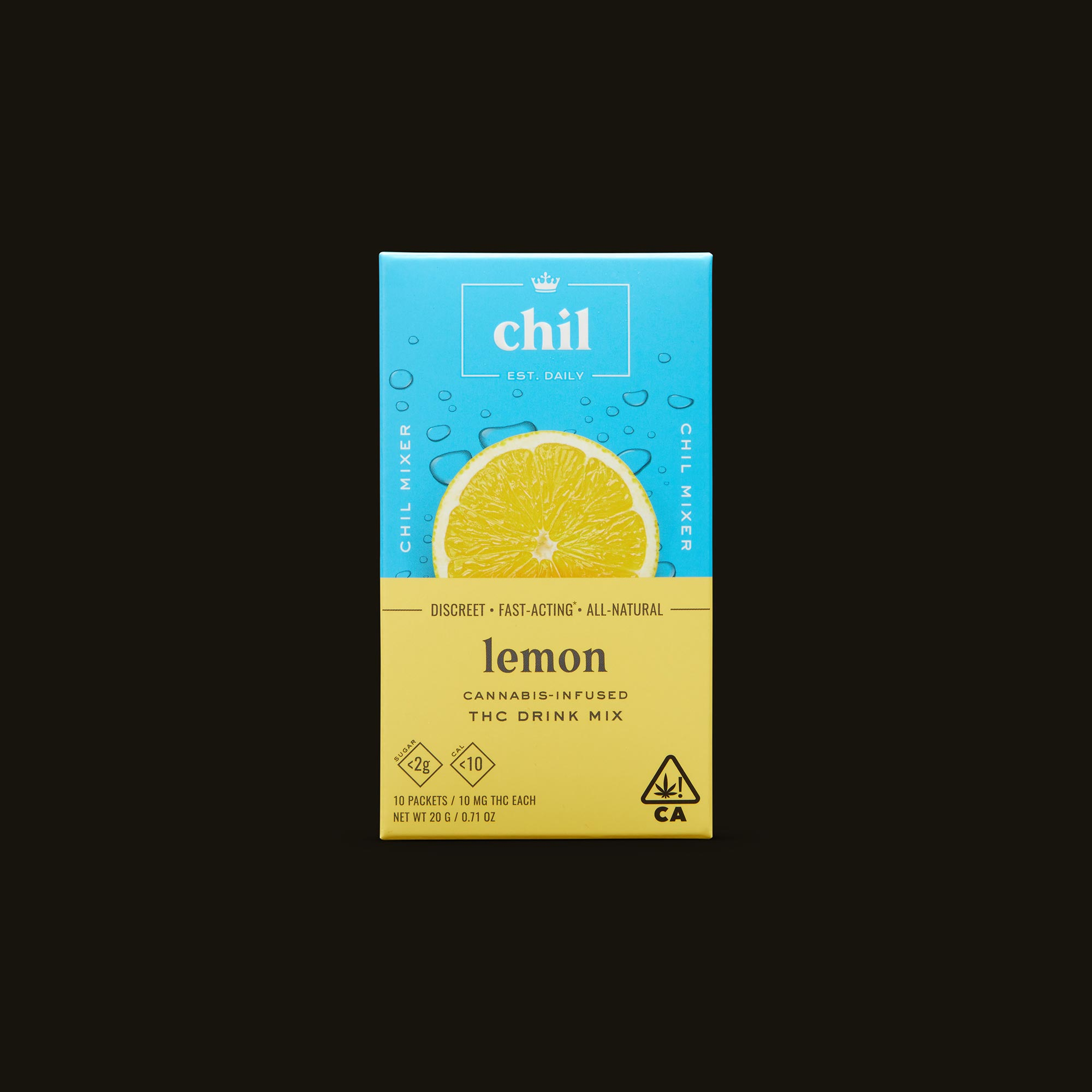 Chil Lemon Mixer Front Box