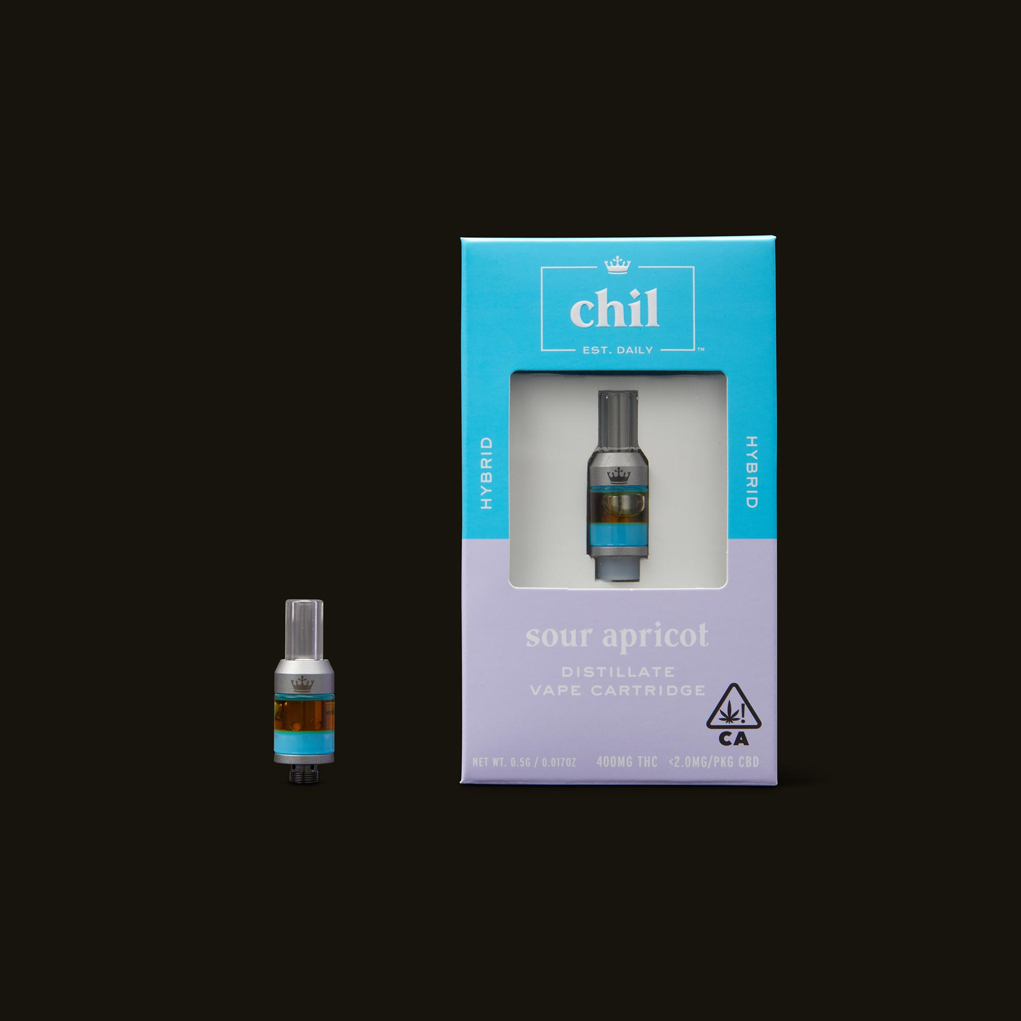 Chil Sour Apricot Cartridge with Box