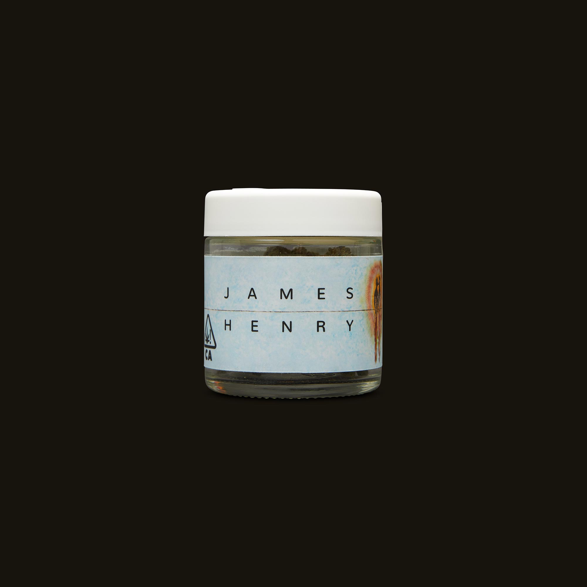 James Henry Pinot Cookie Front Jar