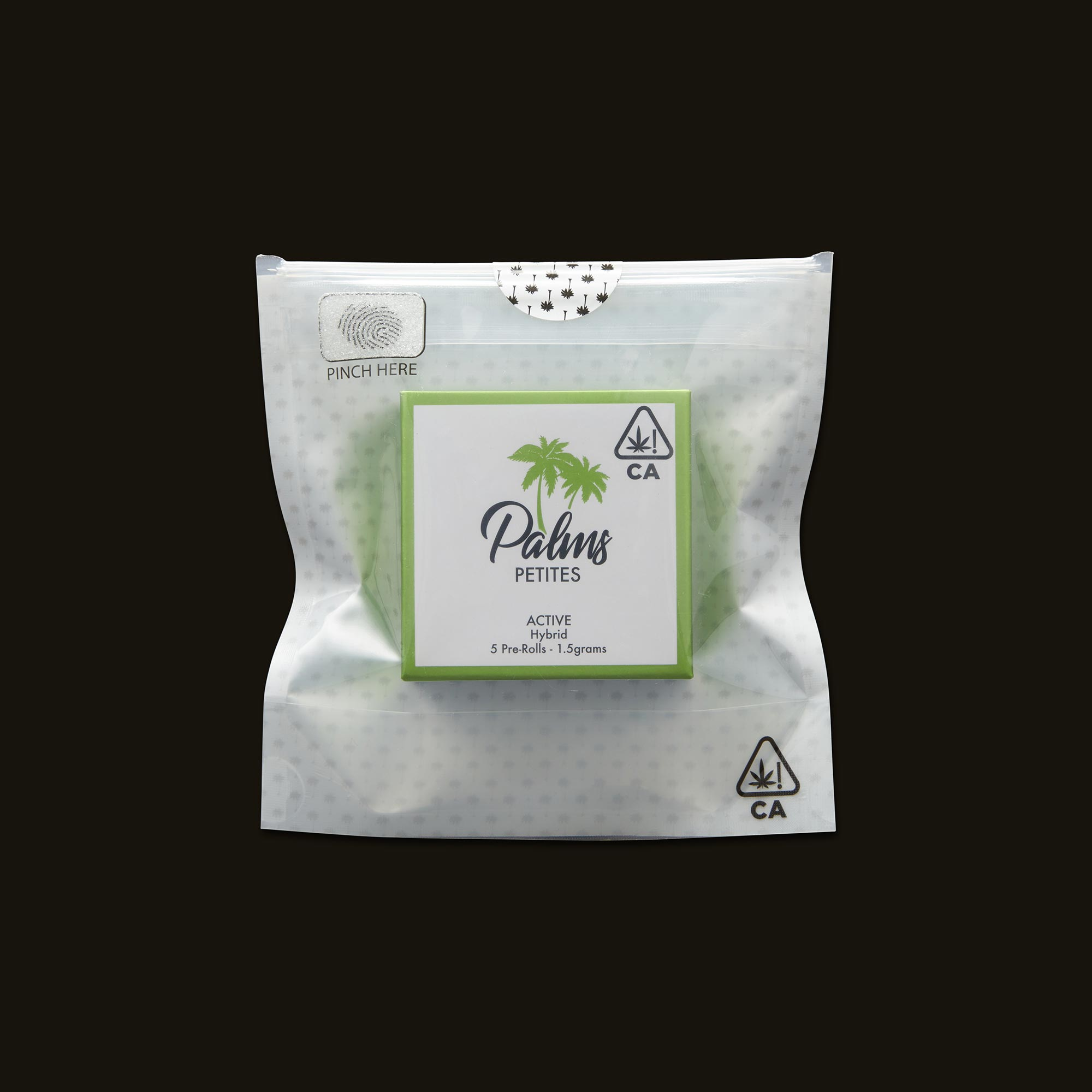 Palms Active Petites 5-Pack Front Packaging