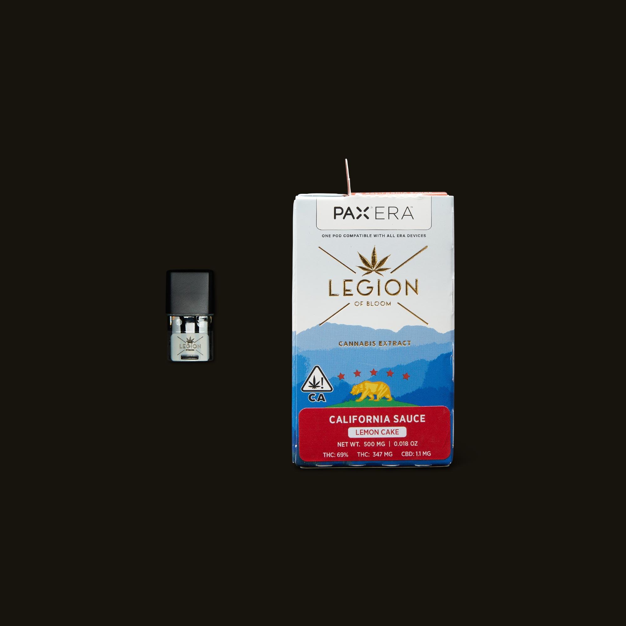 Legion of Bloom Lemon Cake California Sauce PAX Era Pod