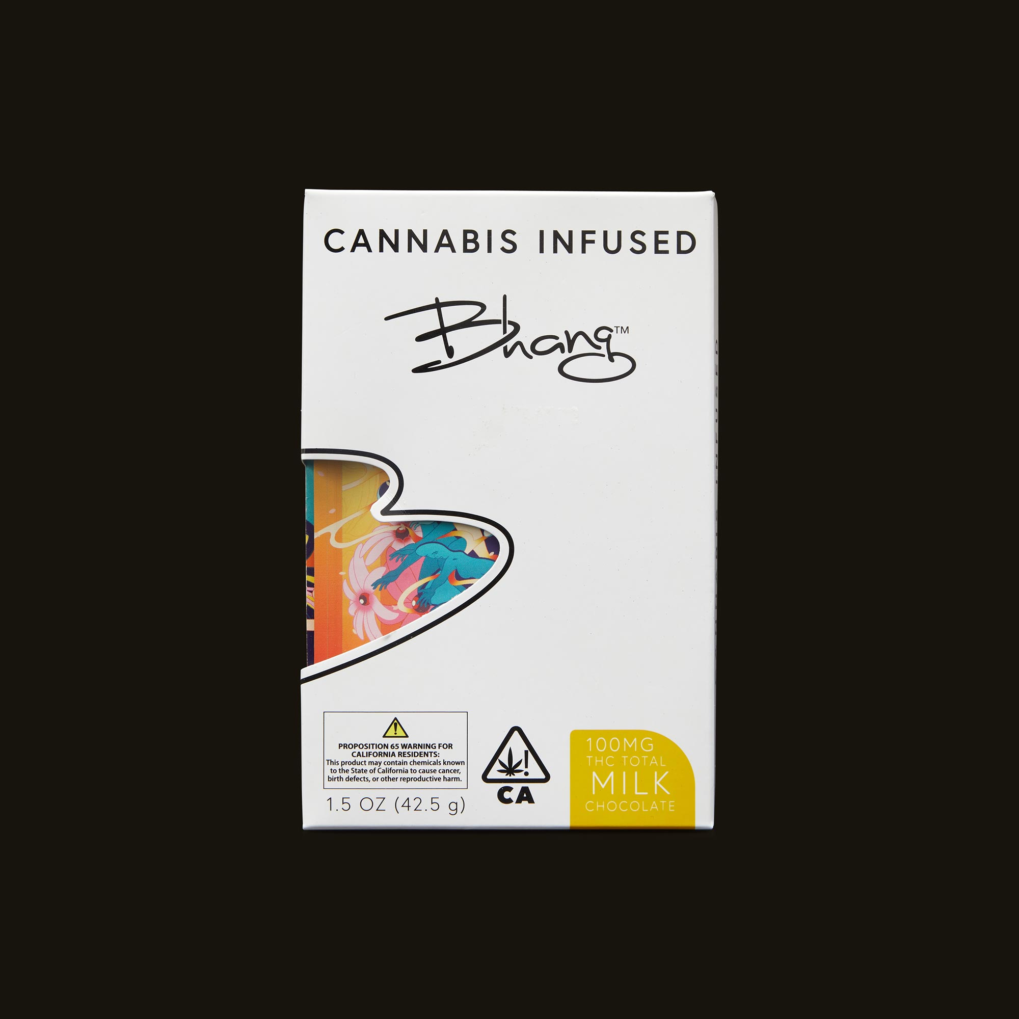 Bhang Milk Chocolate Front Packaging