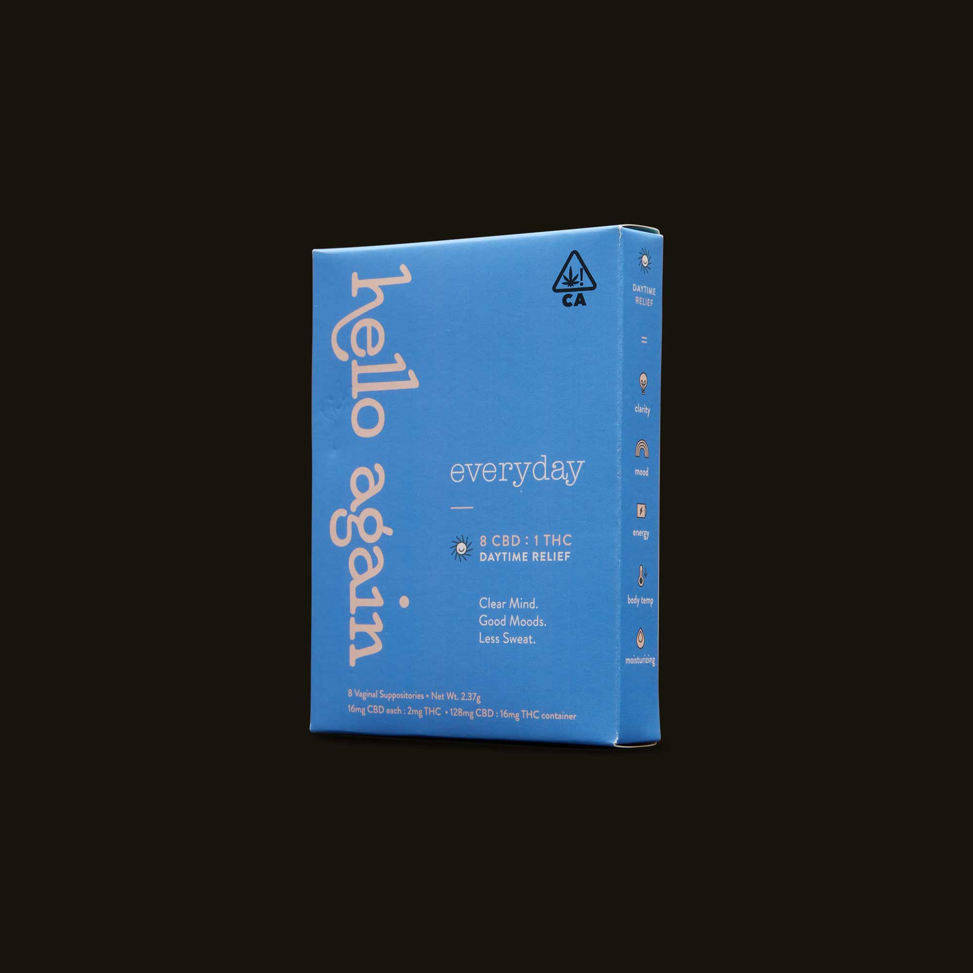 Everyday - 8 vaginal suppositories