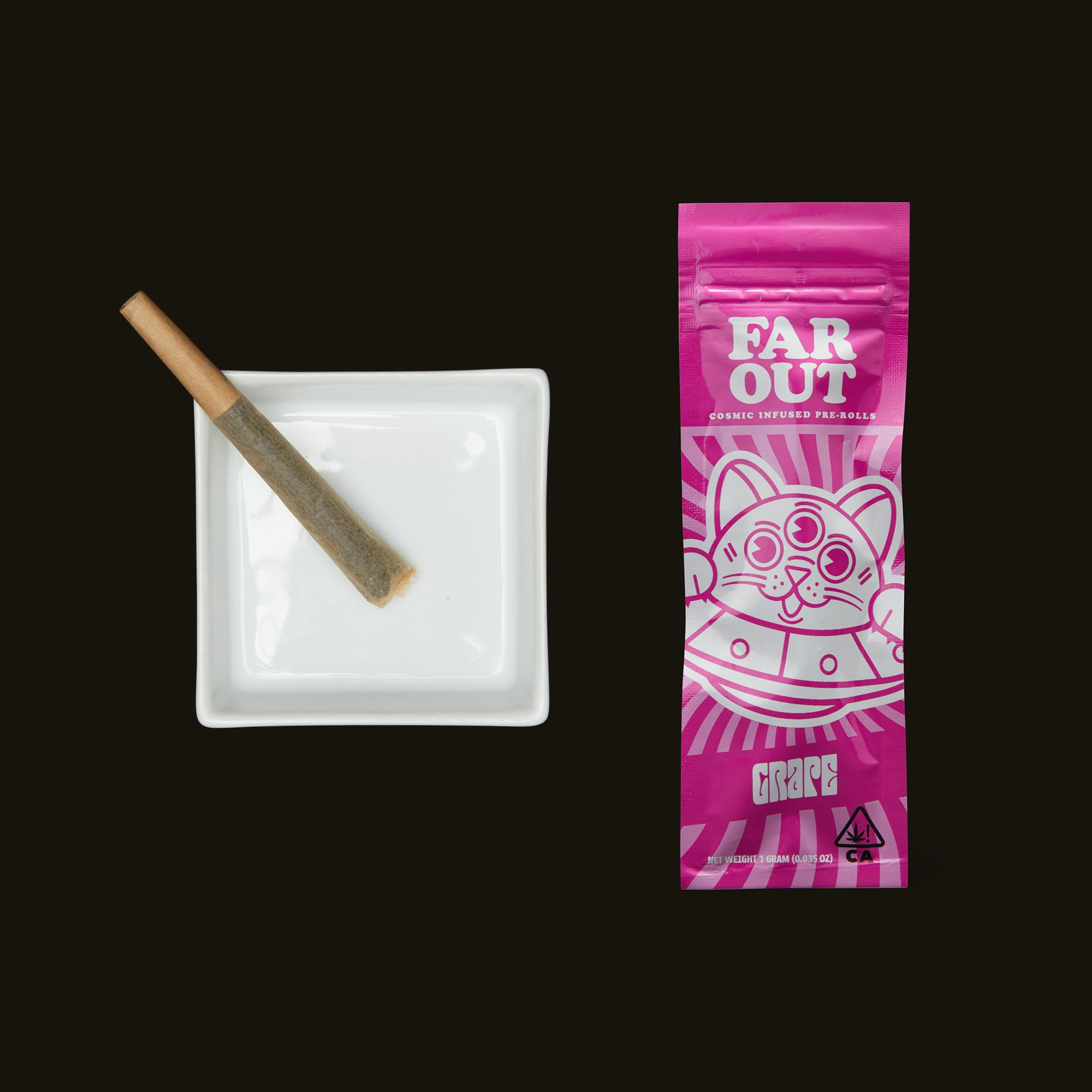 Far Out Grape Infused Pre-Roll