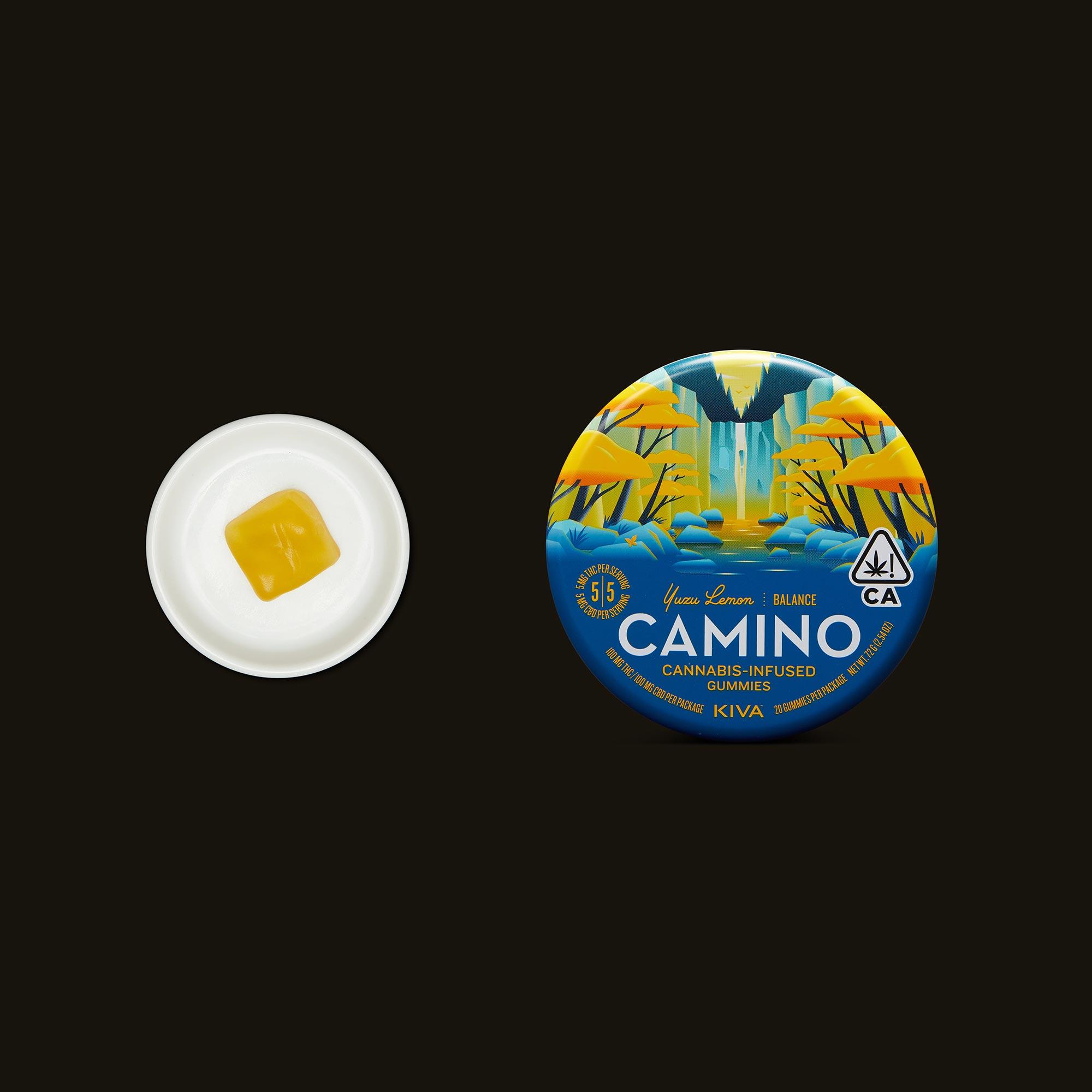 Kiva Confections Camino Yuzu Lemon Balance Gummies