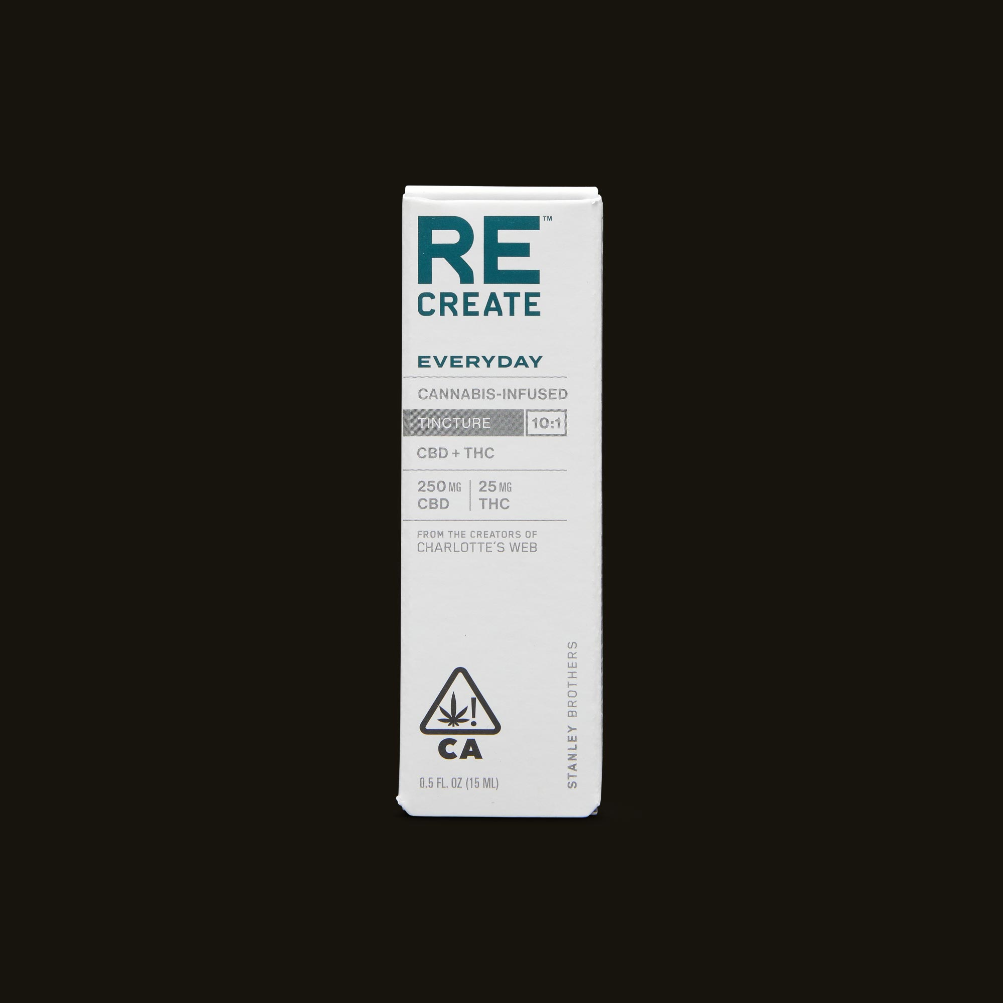 ReCreate Everyday Tincture - 15ml Front Packaging