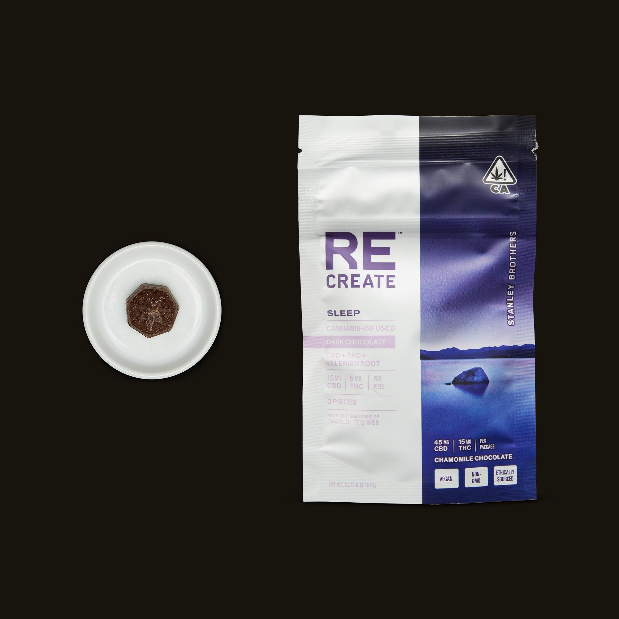 ReCreate Sleep Chocolate - 3 piece