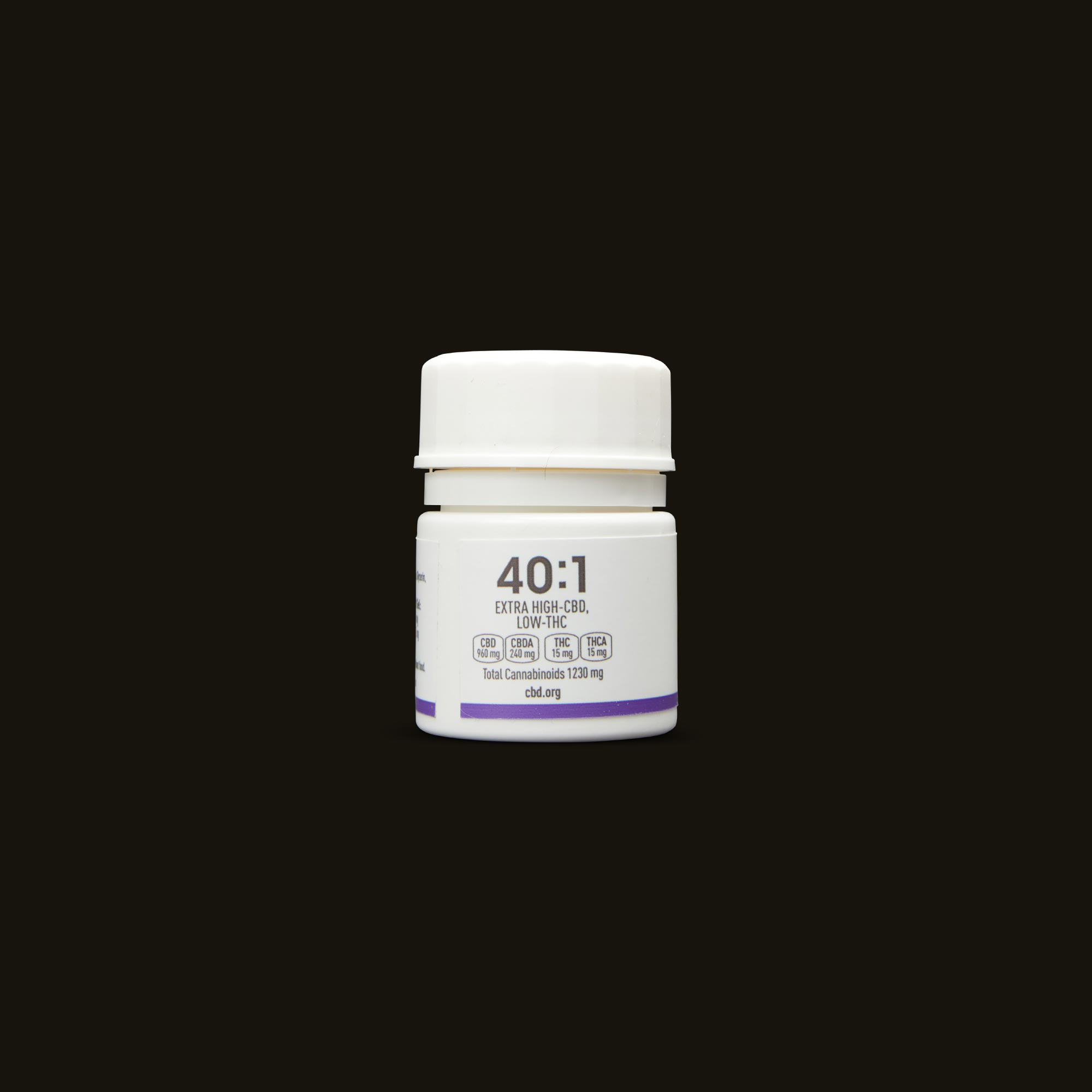 Care By Design 40:1 Soft Gels 30-Pack Back Bottle