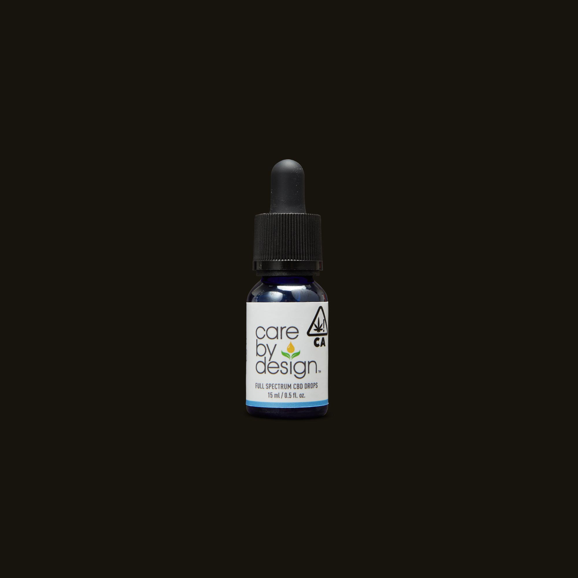 Care By Design 18:1 Full Spectrum CBD Drops - 0.5oz Tincture