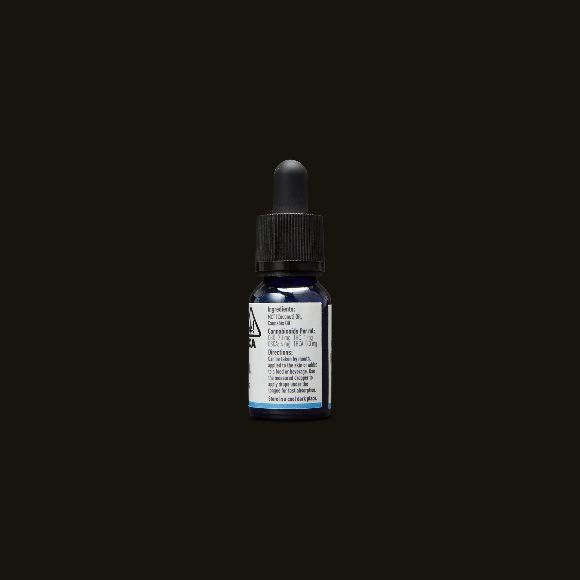 Care By Design 18:1 Full Spectrum CBD Drops - 0.5oz Ingredients